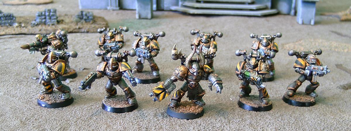 Chaos, Chaos Space Marines, Homebrew, Iron Marauders, Iron Warriors, Warhammer 40,000