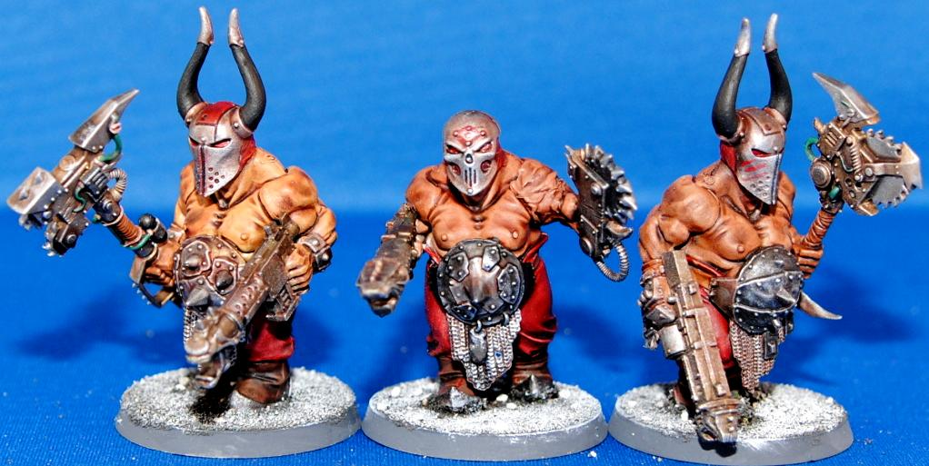 Chaos, Lost And The Damned, Ogryns, Scythiak, Traitor Guard
