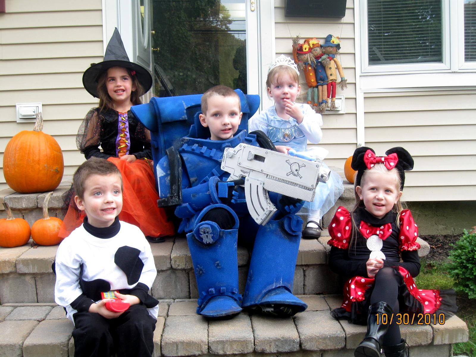 Cosplay, Cute, Halloween, Kids Costumes, Space Marines