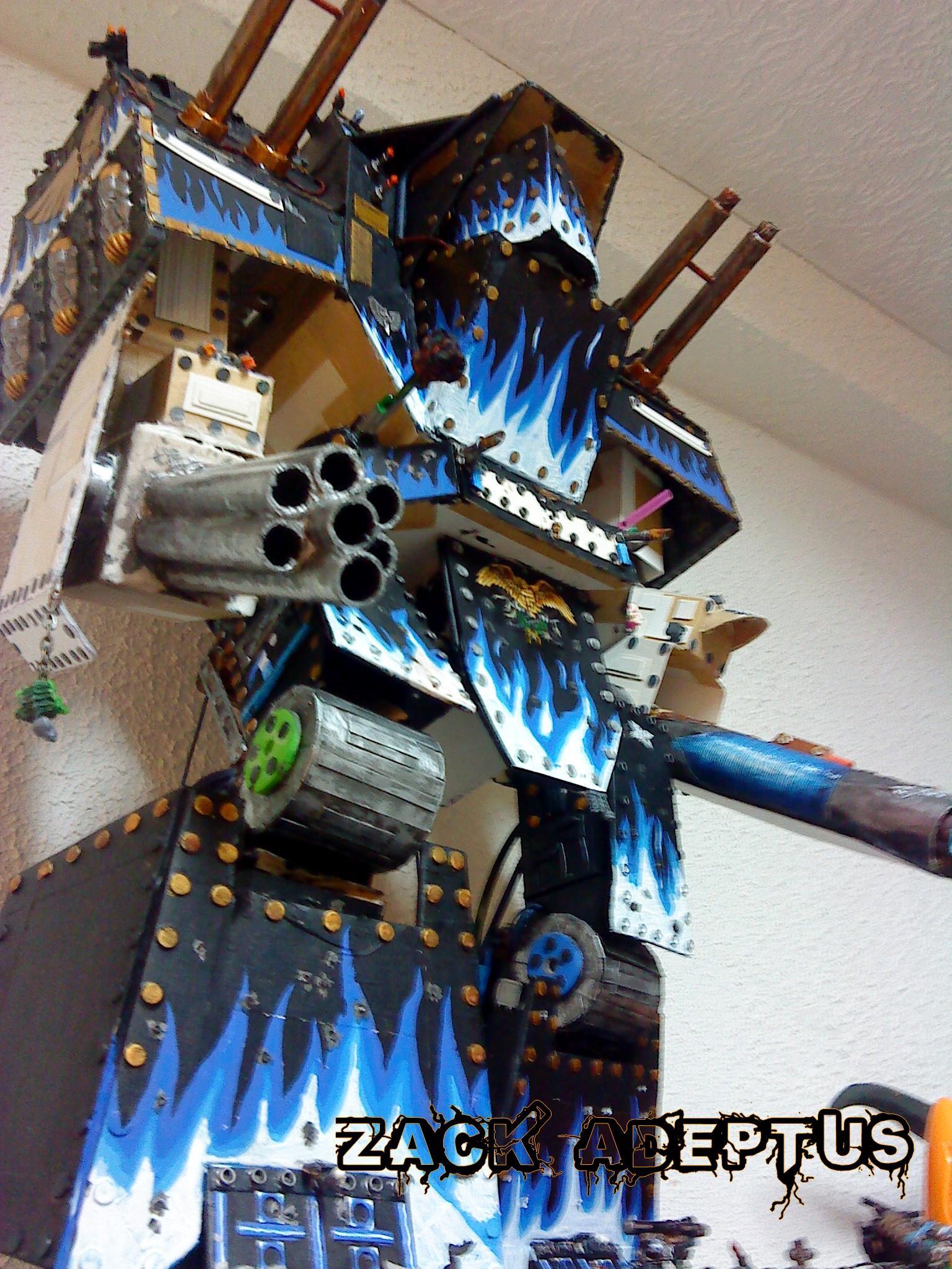 Apocalypse, Scratch Build, Titan, Warhammer 40,000, Warlord