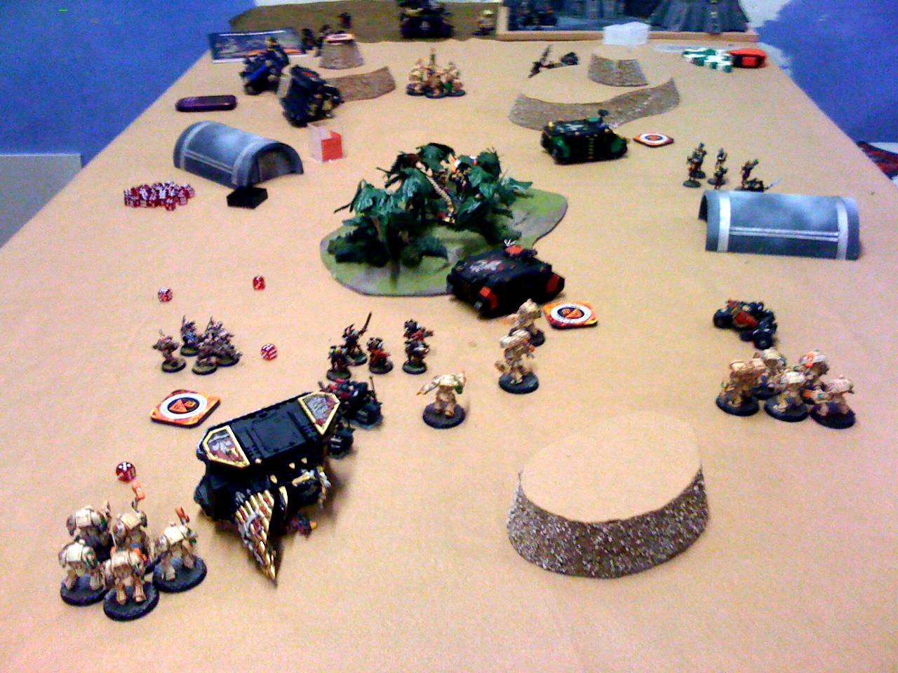 Battle Report, Deathwing, Feast Of Blades, Sisters Of Battle