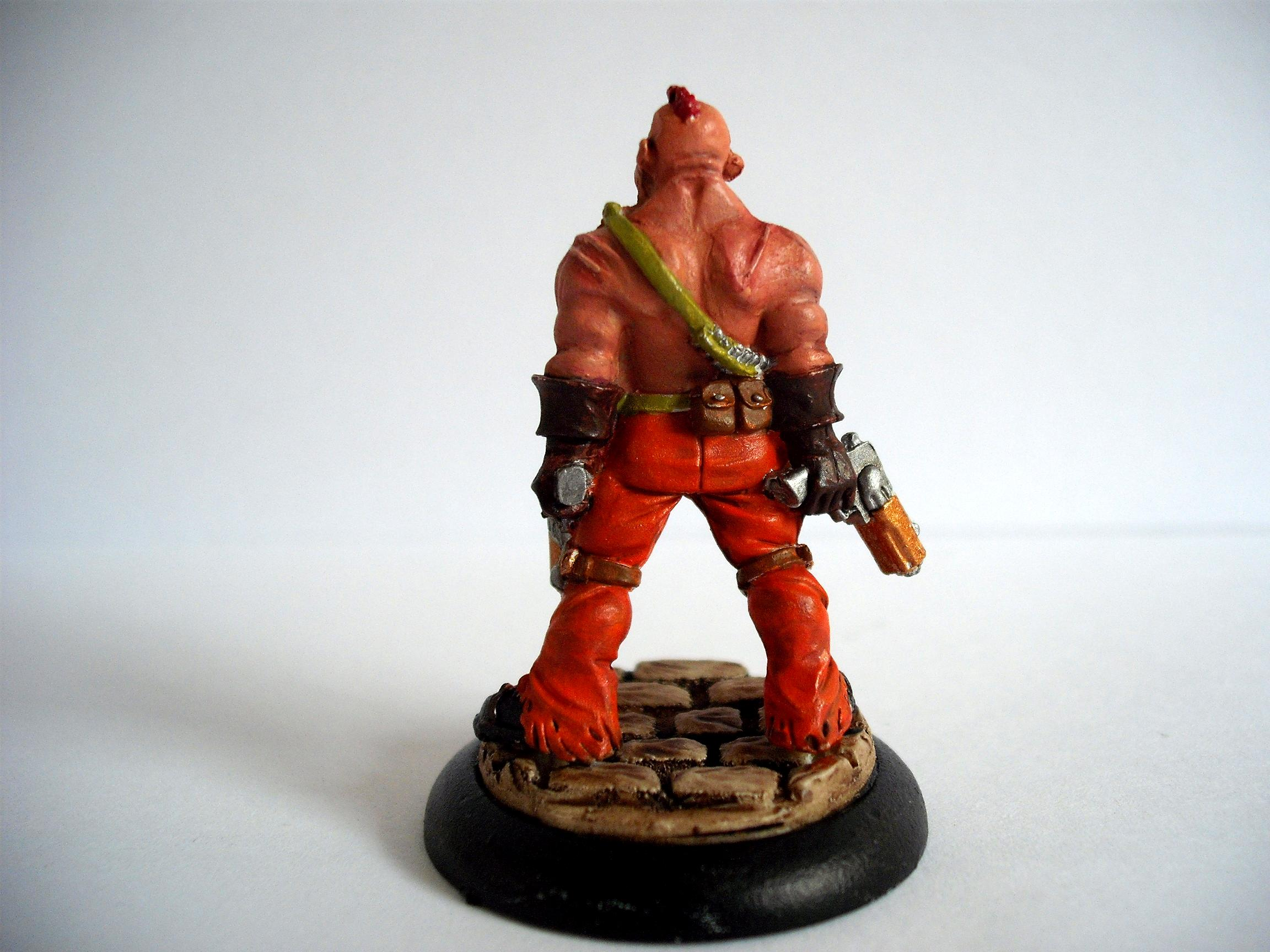 Convict Gunslinger, Malifaux, Outcasts