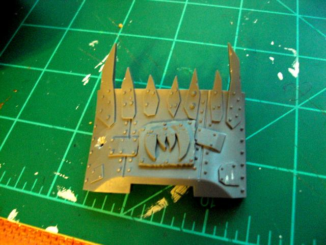 Looted Wagon, Orks, Work In Progress