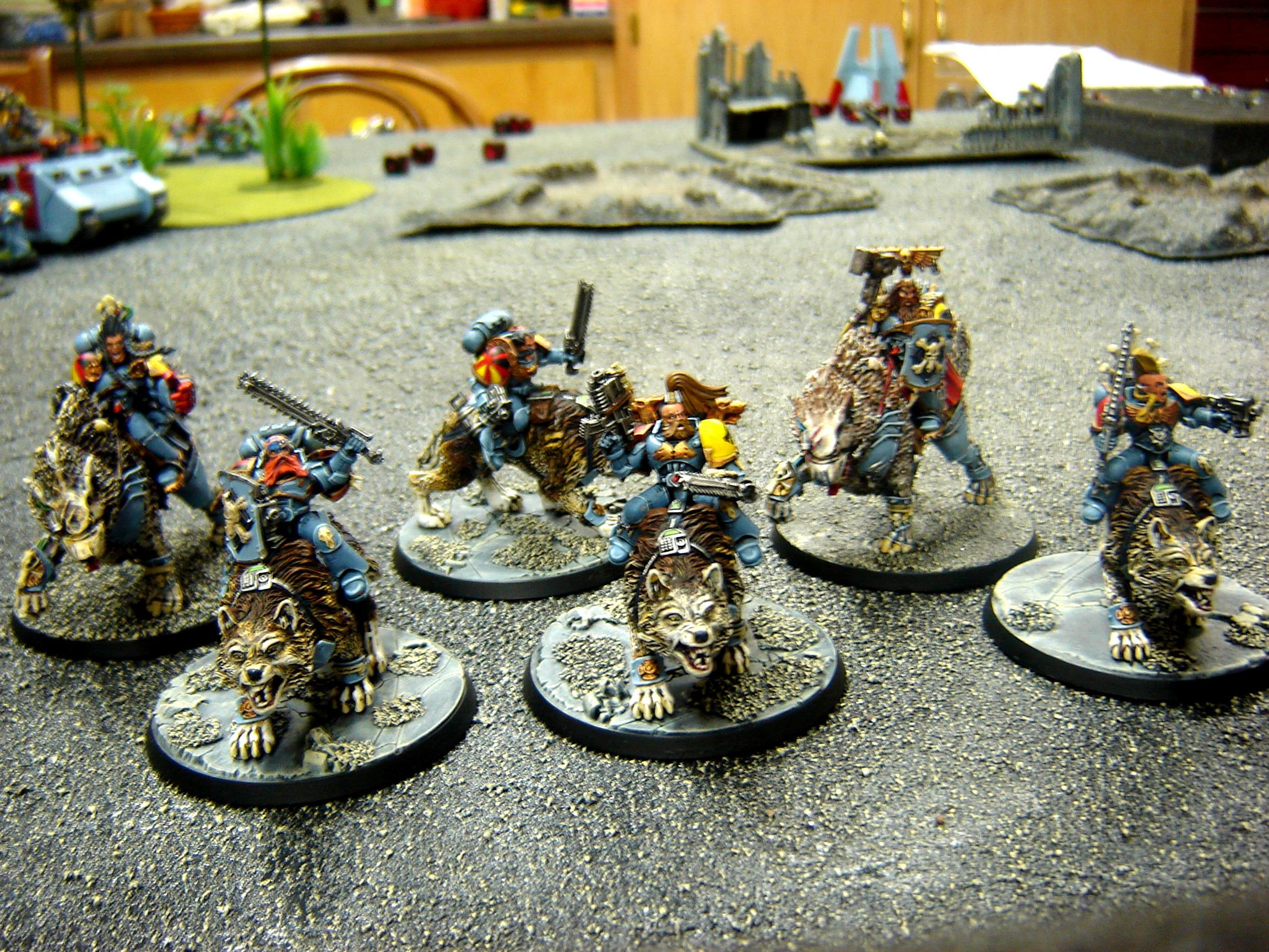 Conversion, Space Wolves, Thunder Wolf