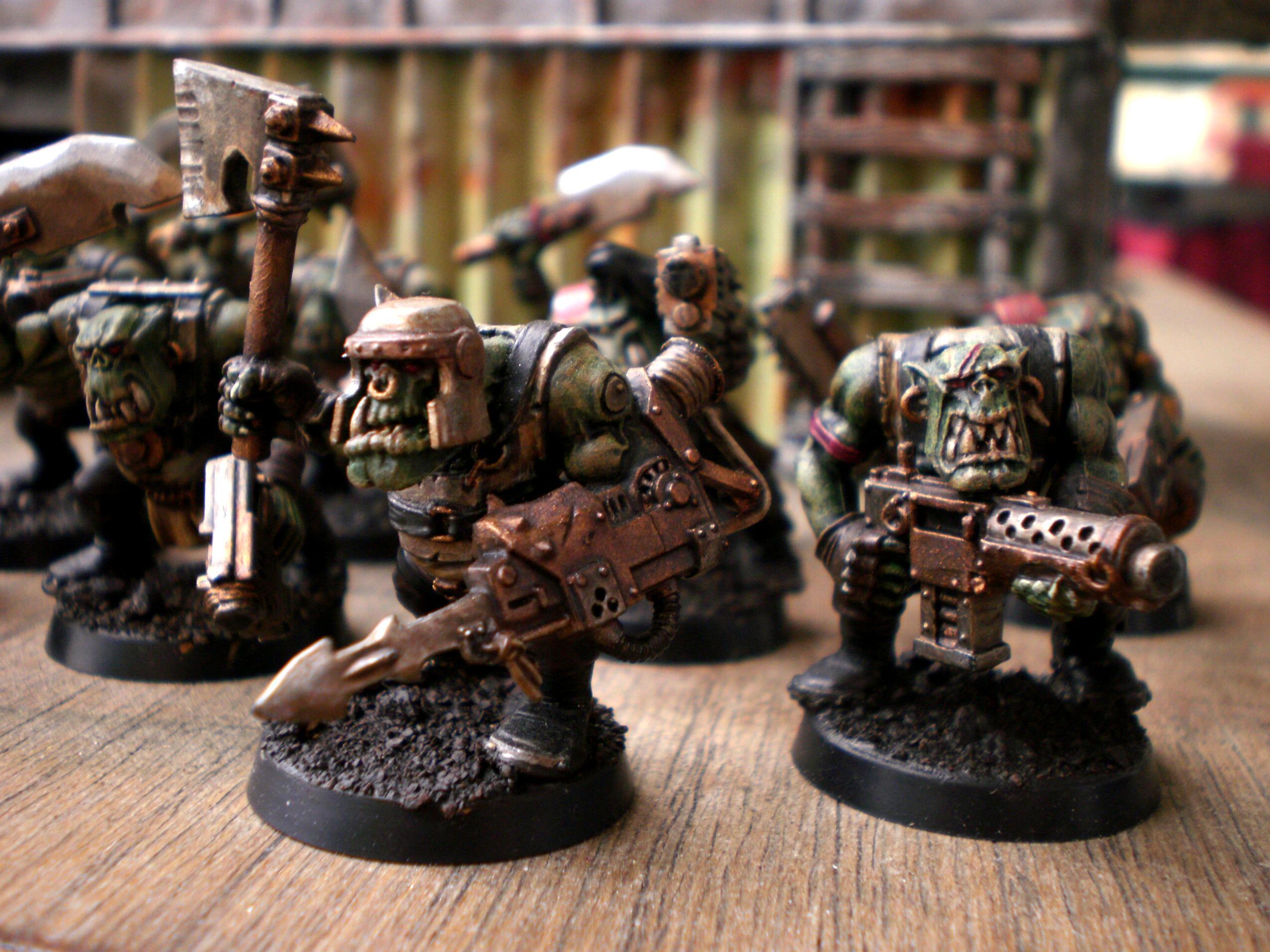 Orks, Boys squad