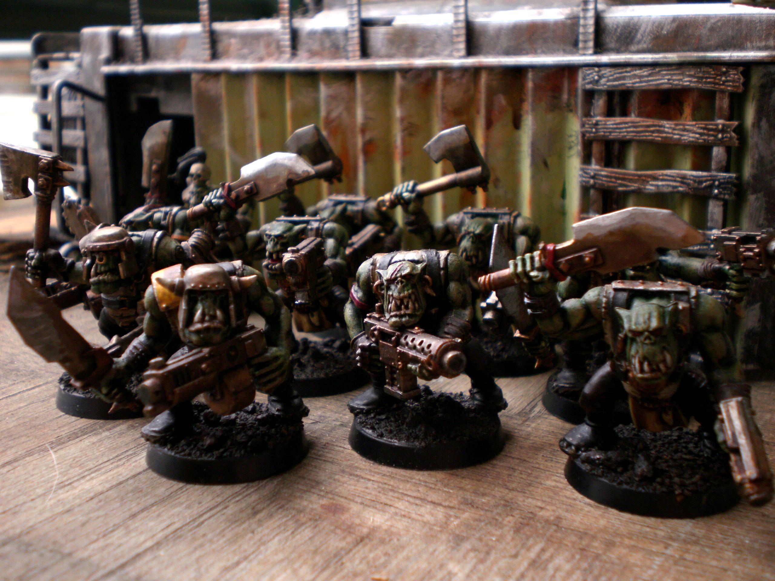 Orks, Slugga Boyz, Boys squad