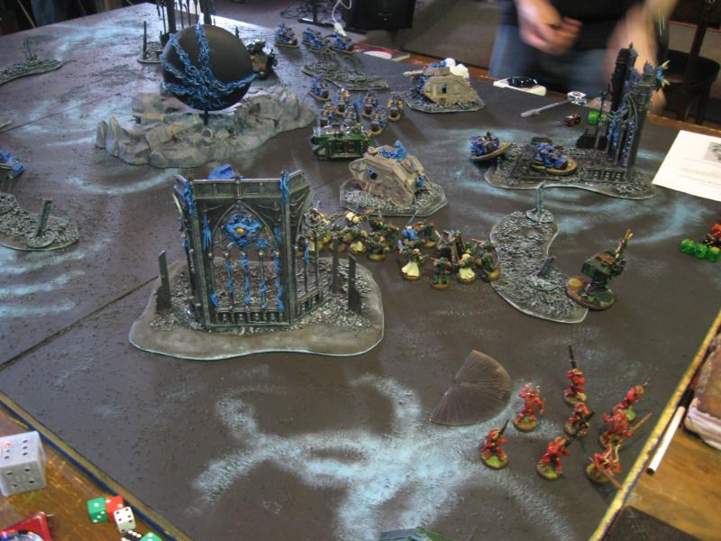 Chaos Daemons, Daemons, Daemonworld, Game Table, Space Marines, Terrain, Warhammer 40,000