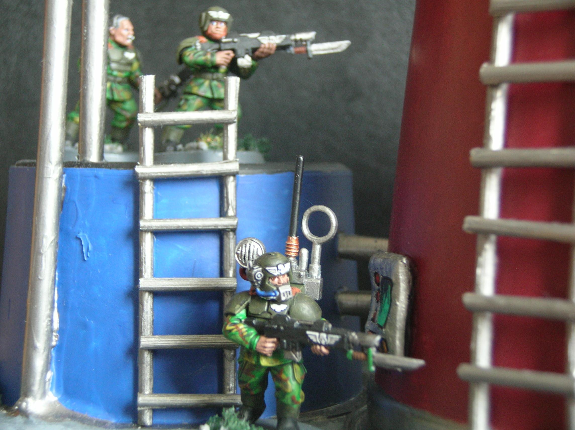 Cadians, Guardsmen, Imperial Guard, Shock Troops, Warhammer 40,000