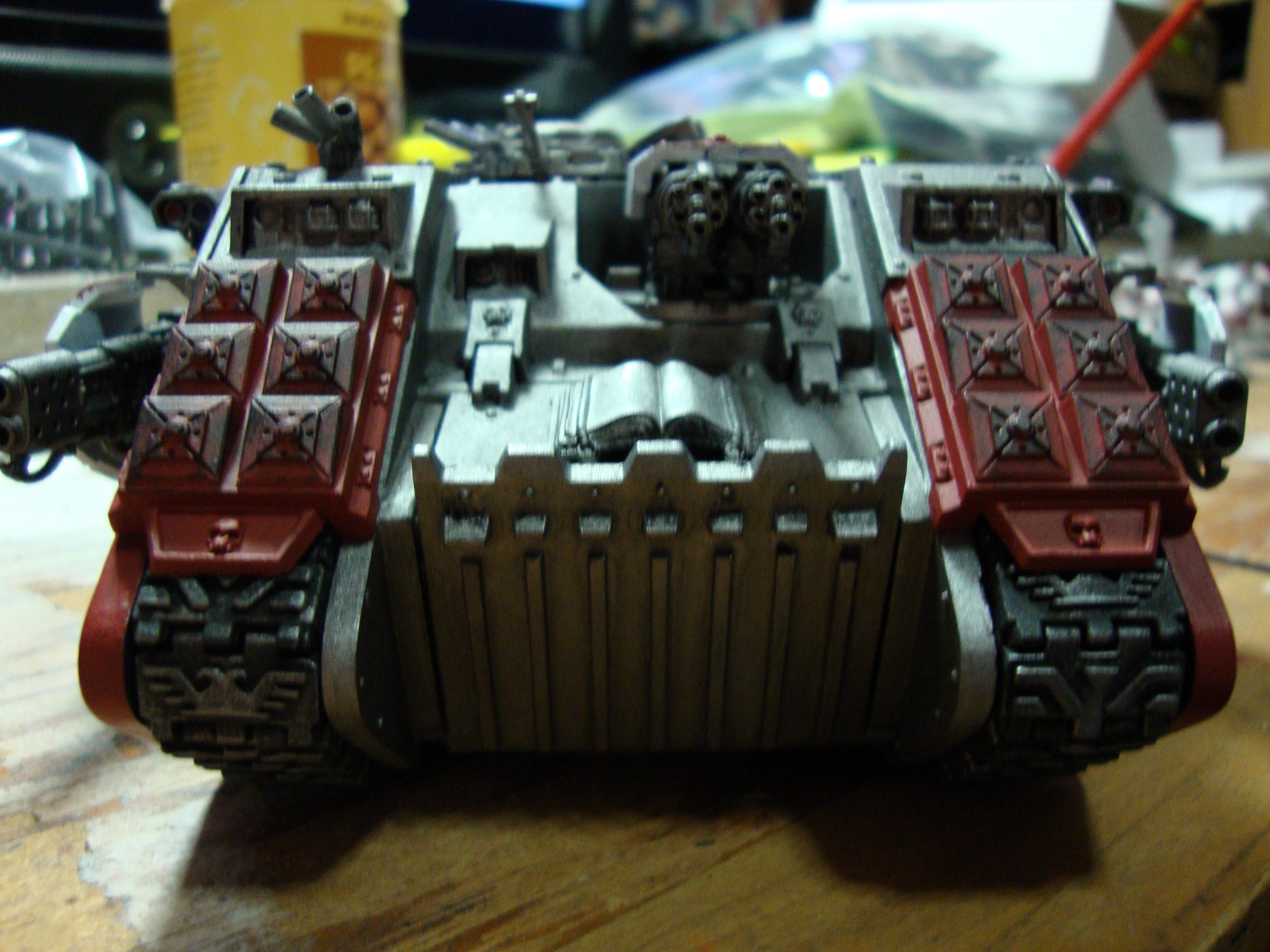 Wasn't sure about the fragmentation launchers on the treads - let me know what you think