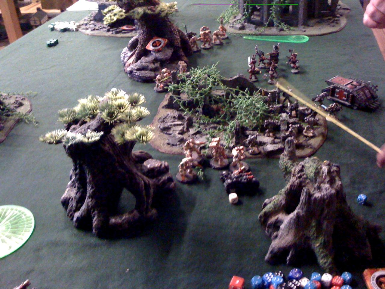 Battle Report, Chaos Space Marines, Deathwing, Feast Of Blades