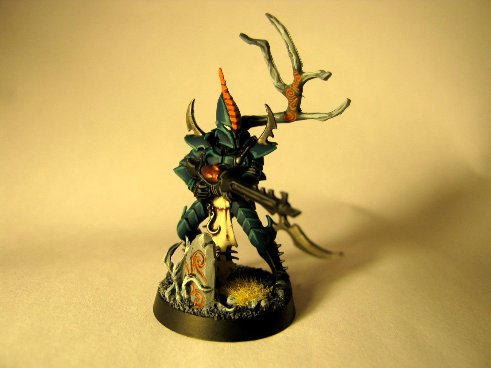 Corpse Forest, Dark Eldar, Kabalite, Work In Progress