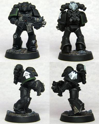 Raven Guard, Space Marines, Tactical Squad, Warhammer 40,000