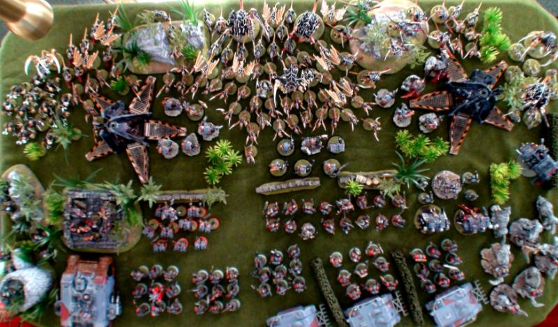 Marines Vs Army >> 5000, 6000, Army, Space Wolf Vs Tryanid, Space Wolves, Warhammer 40,000 - Space Wolf Army ...