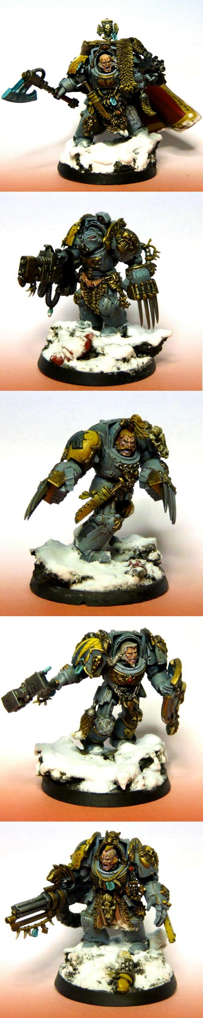 Space Wolves, Terminator Armor, Wolf Guard