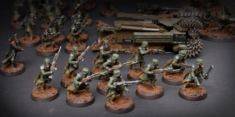 Death Korps of Krieg, Imperial Guard, Kreig