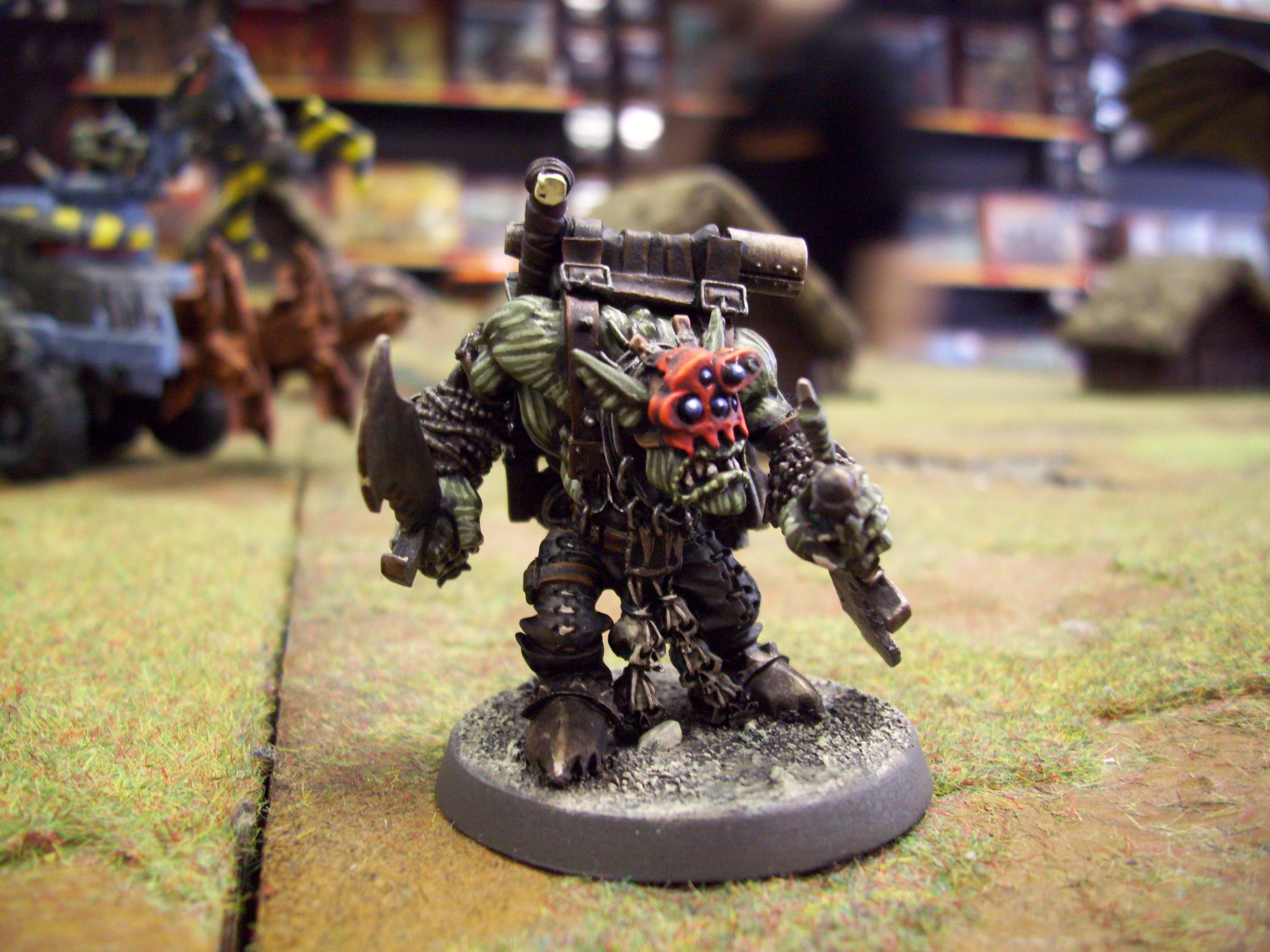 Boss Snikrot, Camouflage, Deff Dread, Deff Dredd, Dredd, Kommando, Orks