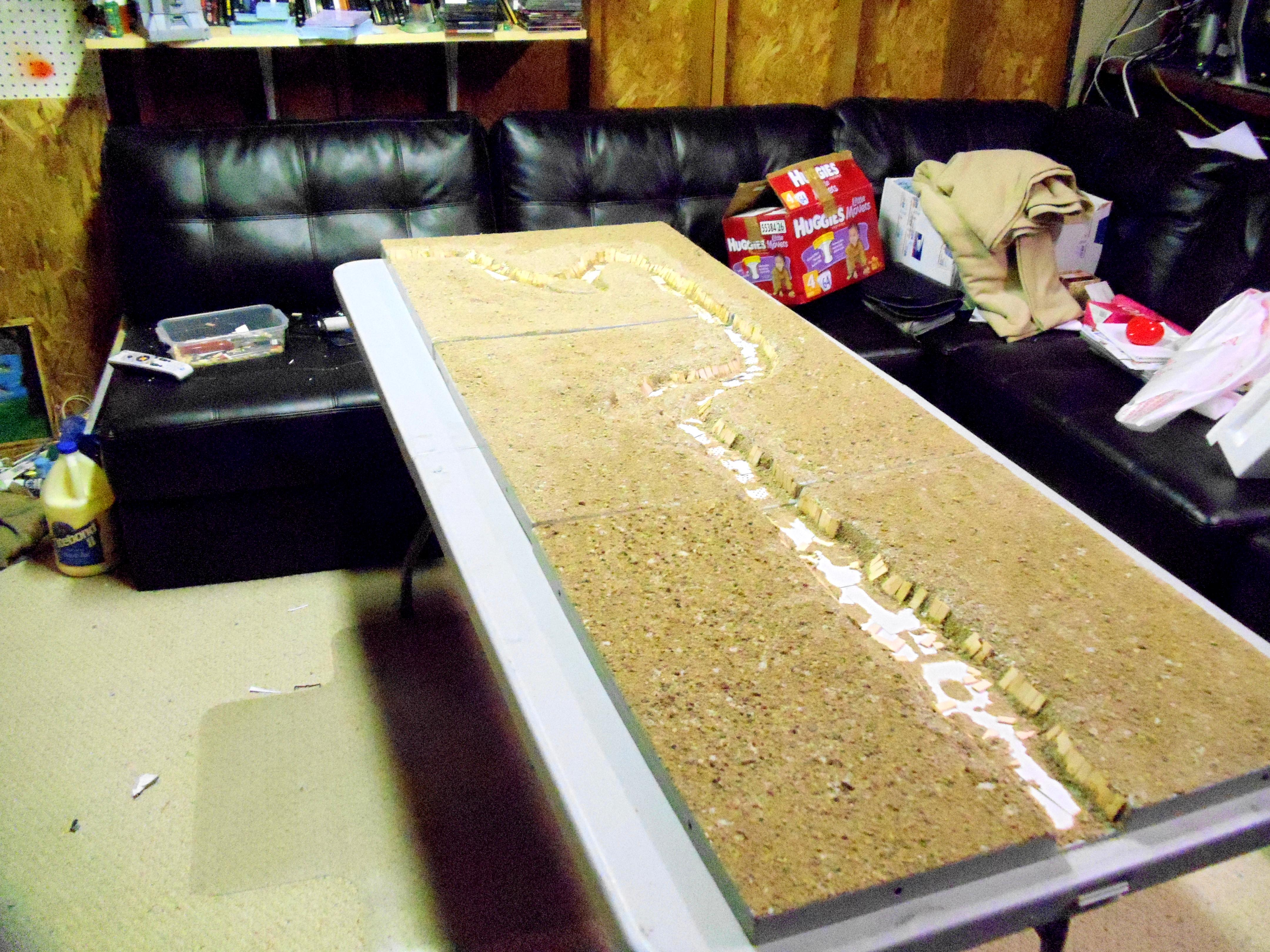 Game Table, Terrain, Trench, Trenches