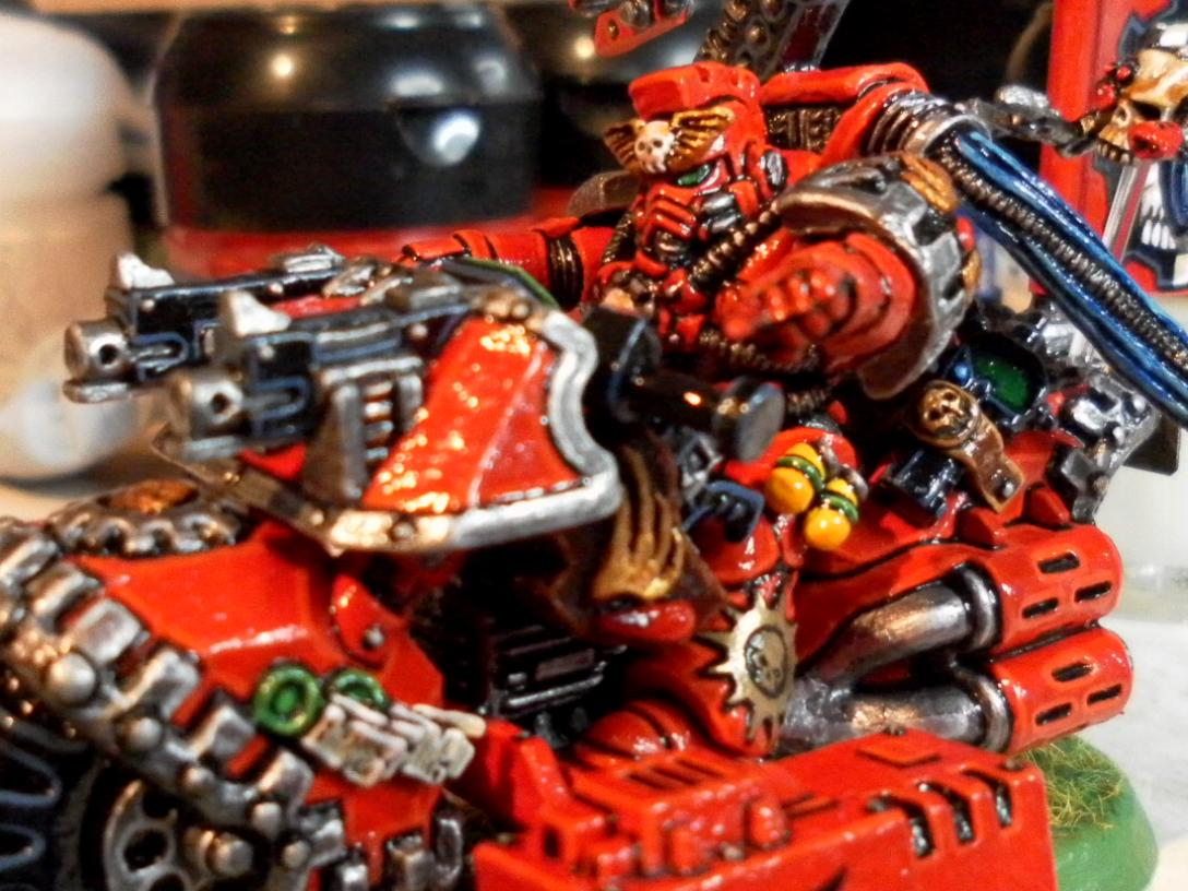 Blood Angels, Mark Tucker, Tech Marine, Tech Marine On Bike