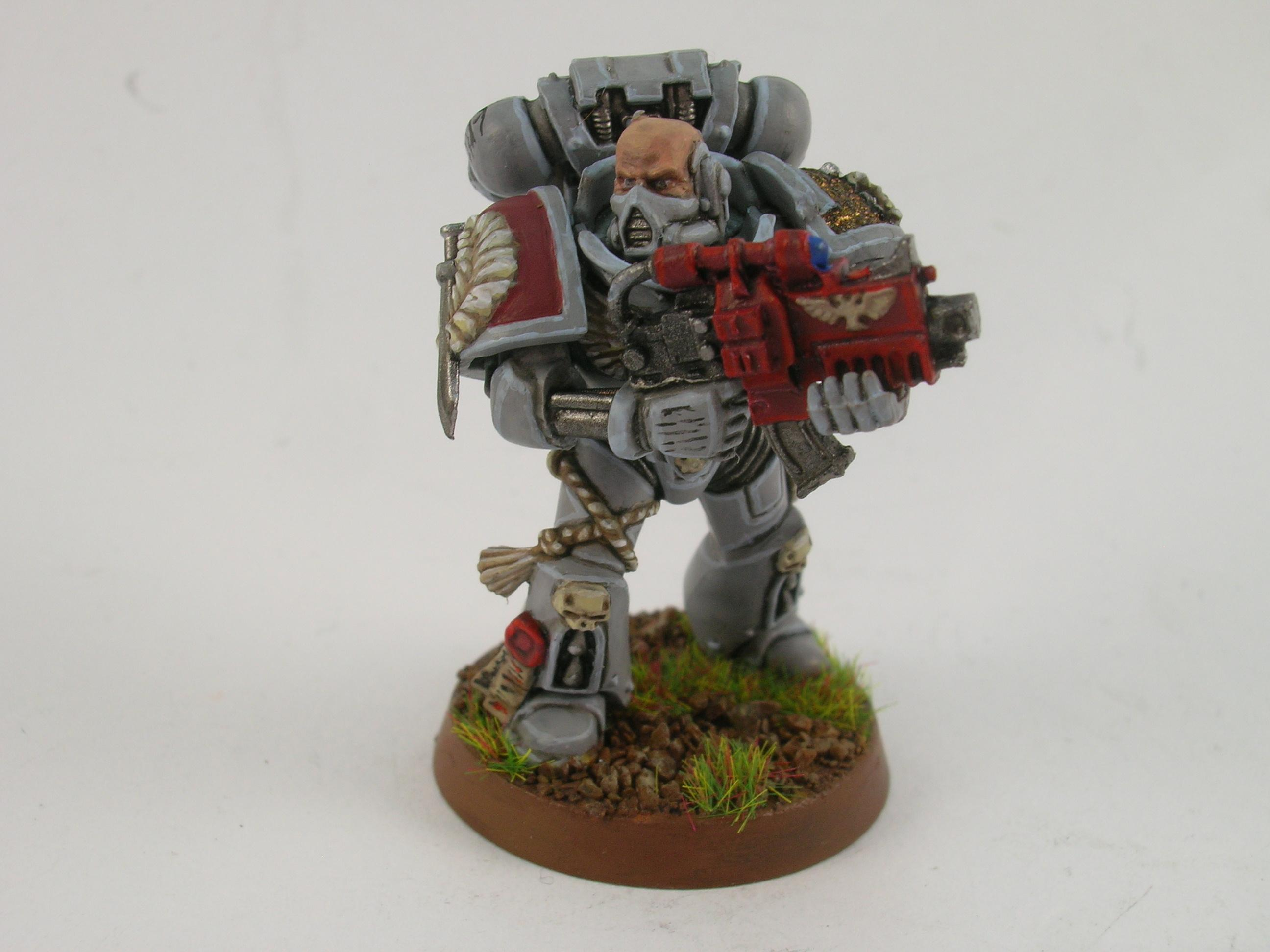 Painted Around 2009 To Current, Space Marines, Tactical Squad