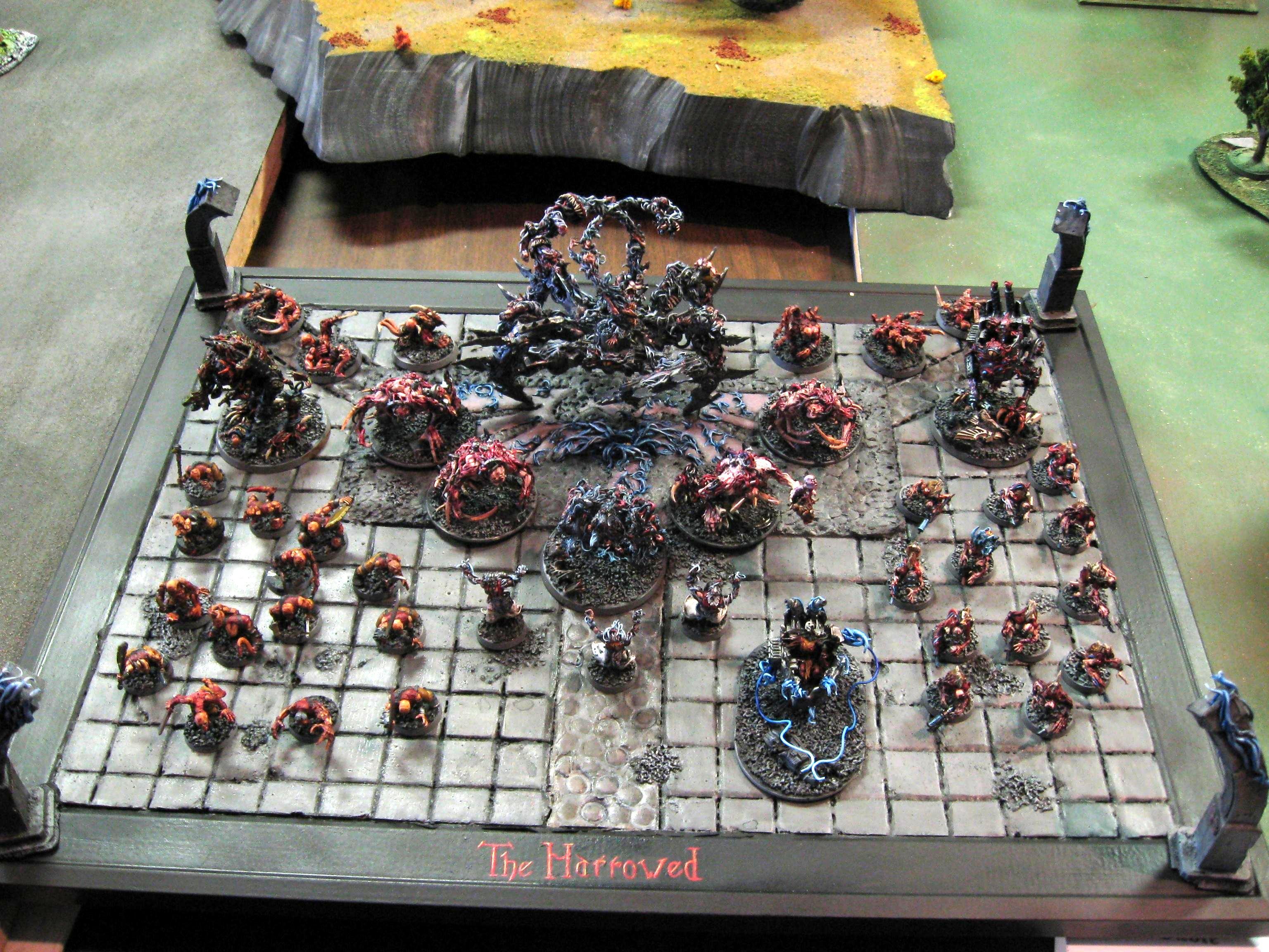 Army, Chaos Daemons, Daemons, Display Board, Harrowed