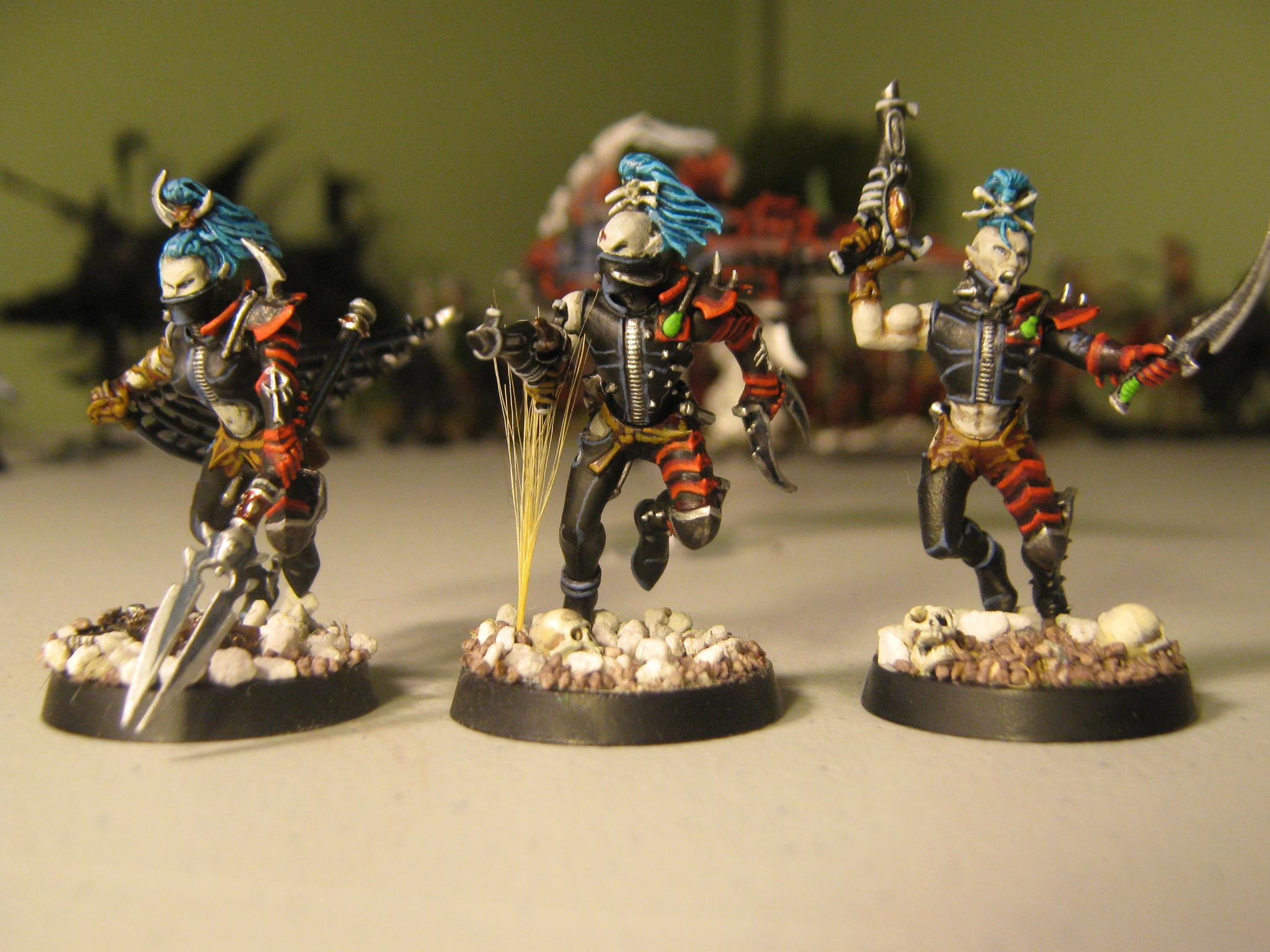Color Scheme, Dark Eldar, De, New Army, New Dark Eldar, Reaver, Warhammer 40,000, Wyches