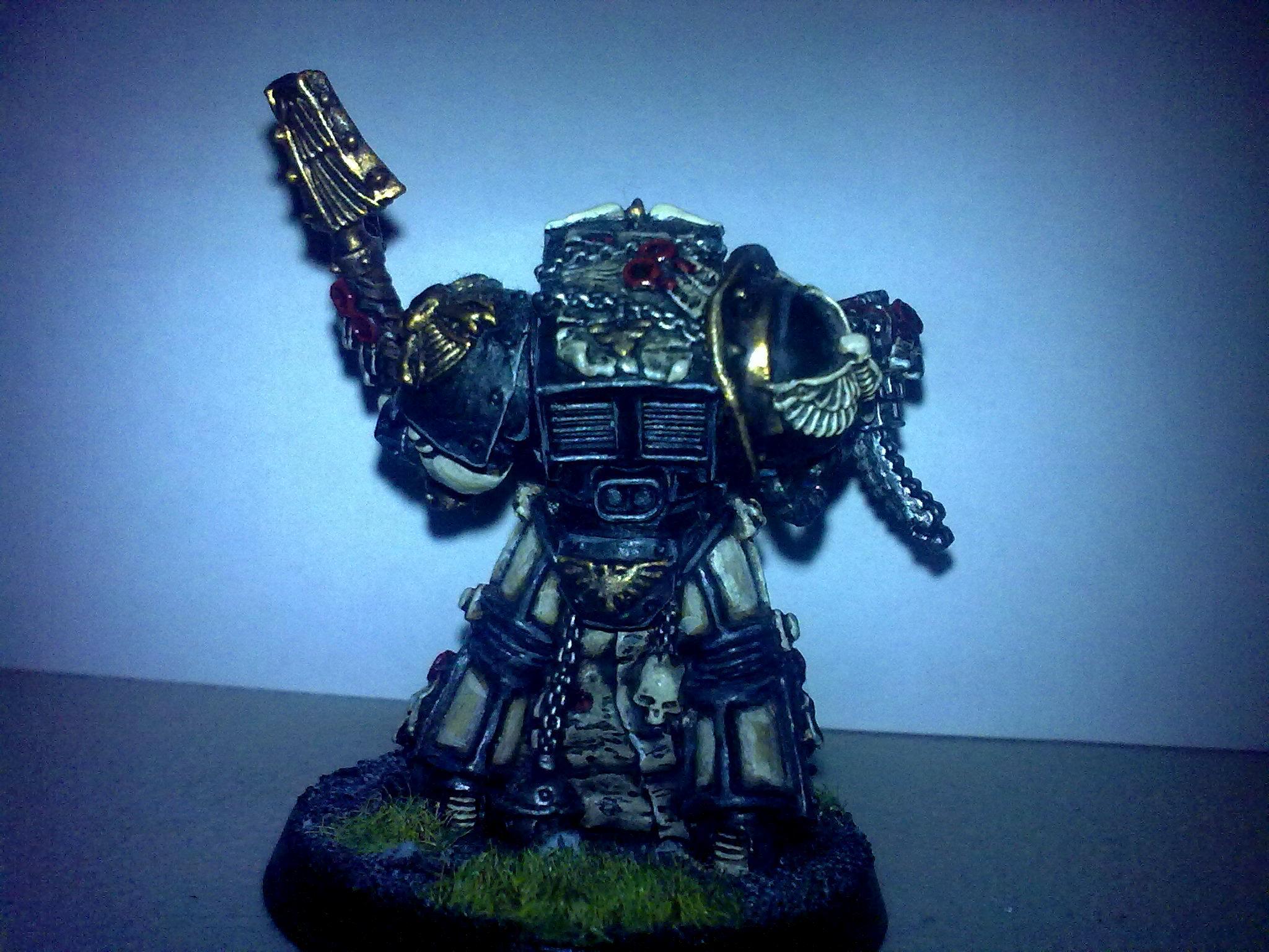 Chaplain, Character, Space Marines, Terminator Armor, Warhammer 40,000