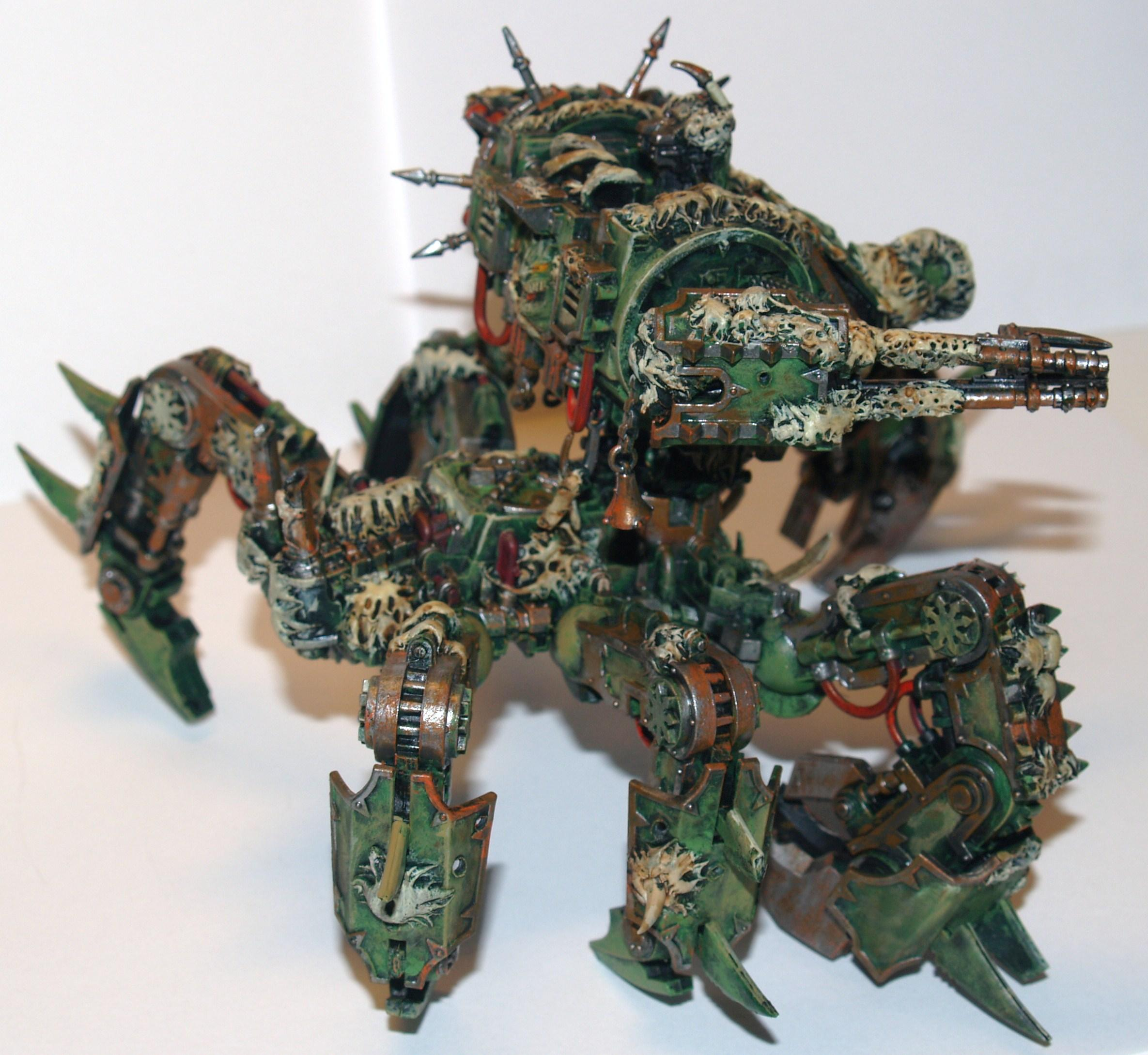 Chaos Space Marines, Conversion, Nurgle, Plague Marines
