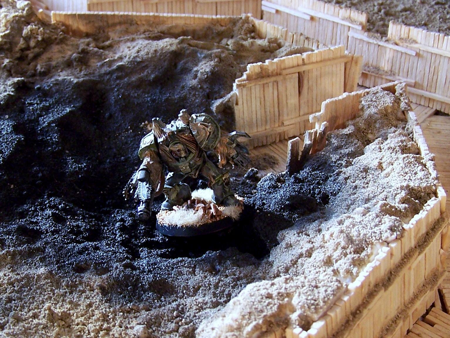 Black Hand, Chaos Space Marines, Obliterators, Silvermk2