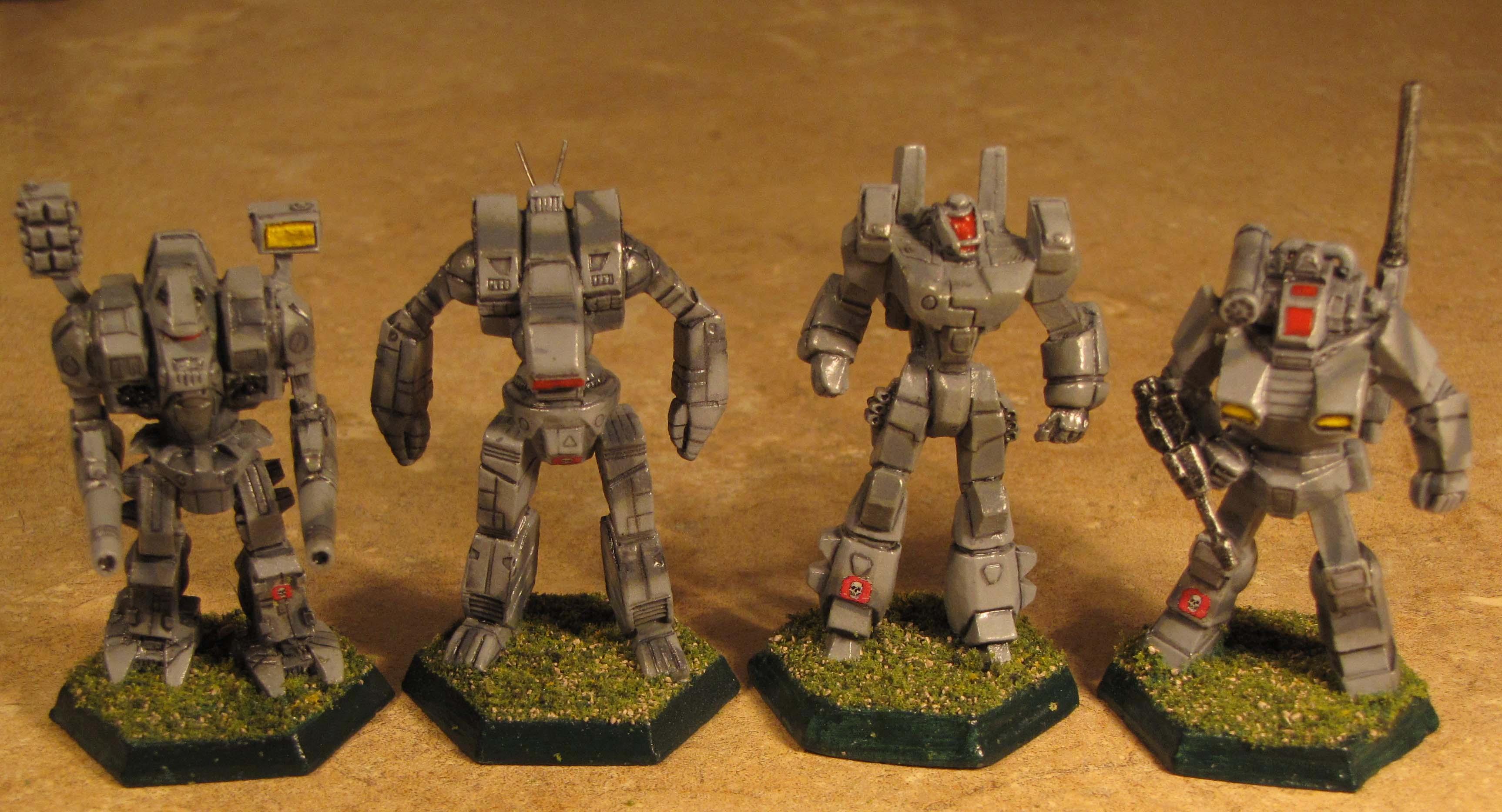 6mm, Battlemech, Battletech, Catalyst Game Labs, Fasa, Grey Death Legion, Iron Wind Metals, Mech, Mechwarrior, Mercenary, Ral Partha, Robotech, Science-fiction