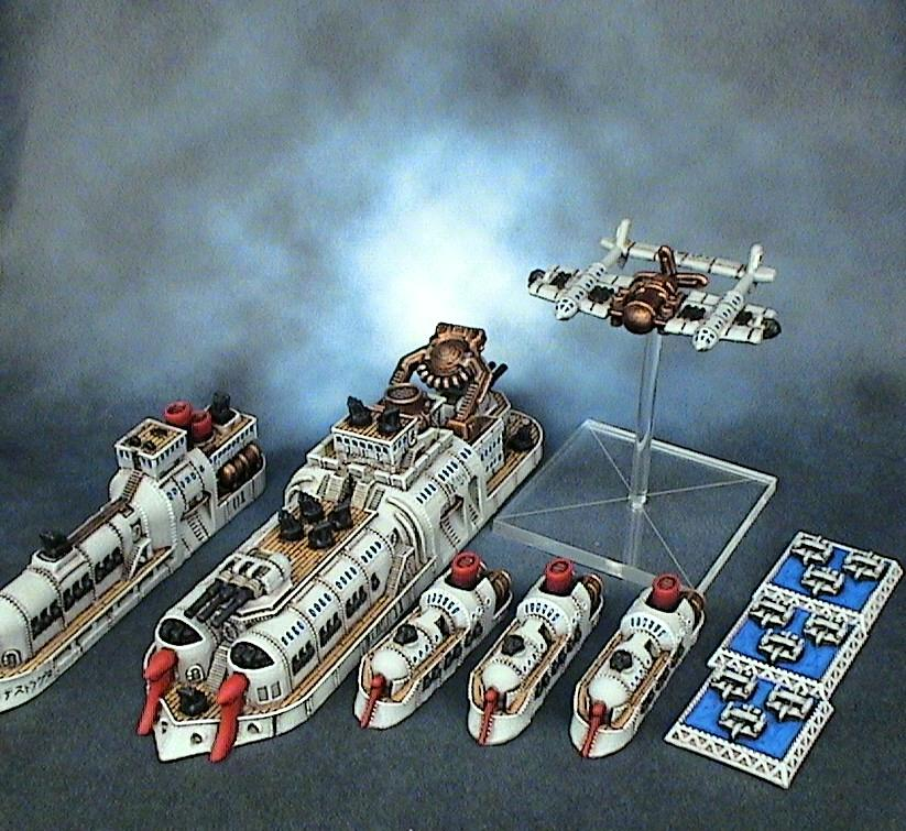 Dystopian Wars, Empire Of The Blazing Sun, Eotbs, Eotbs Bombers, Eotbs Cruisers, Spartan Games