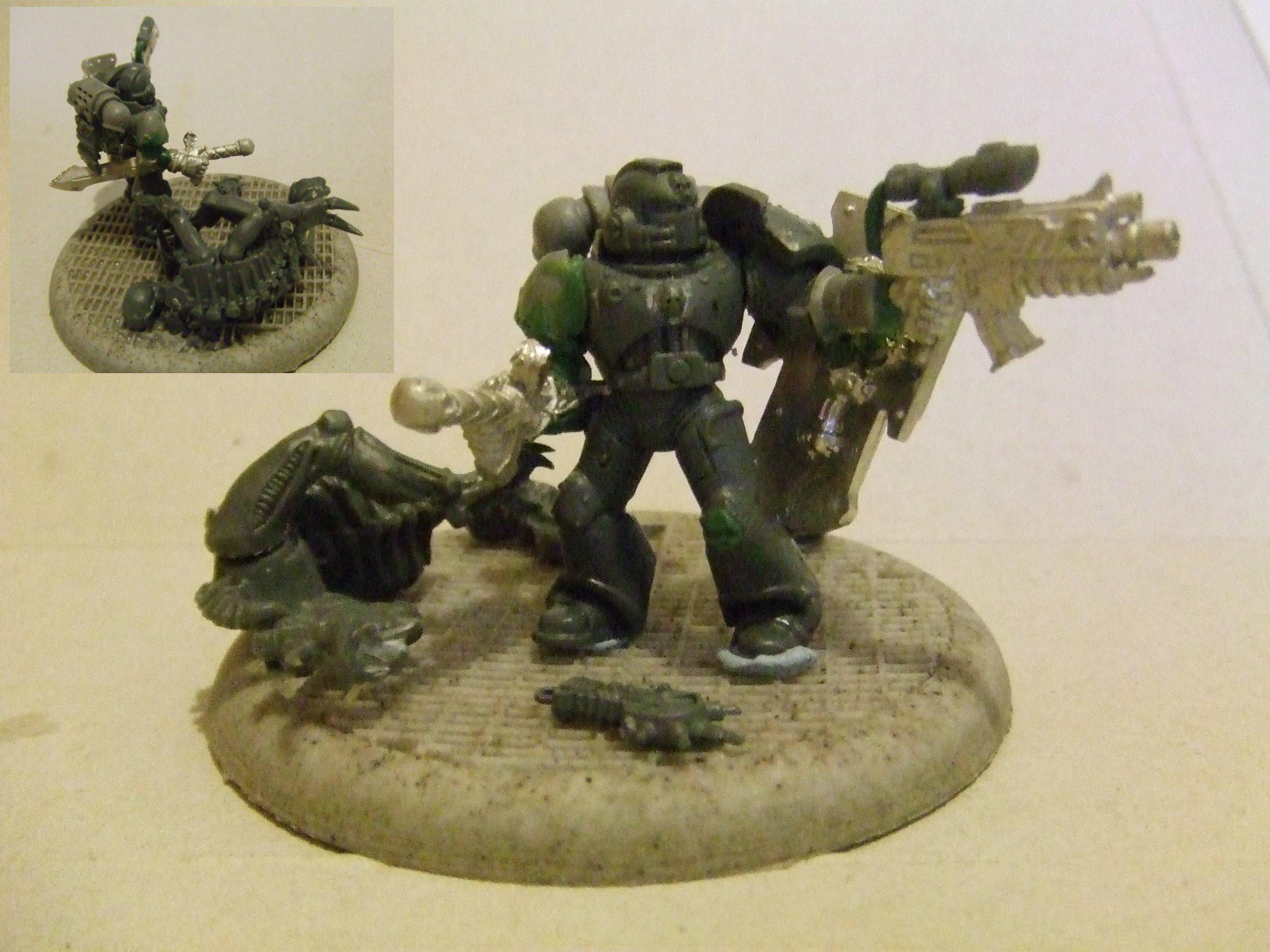 Deathwatch, Mentor Legion, Space Hulk, Space Marines