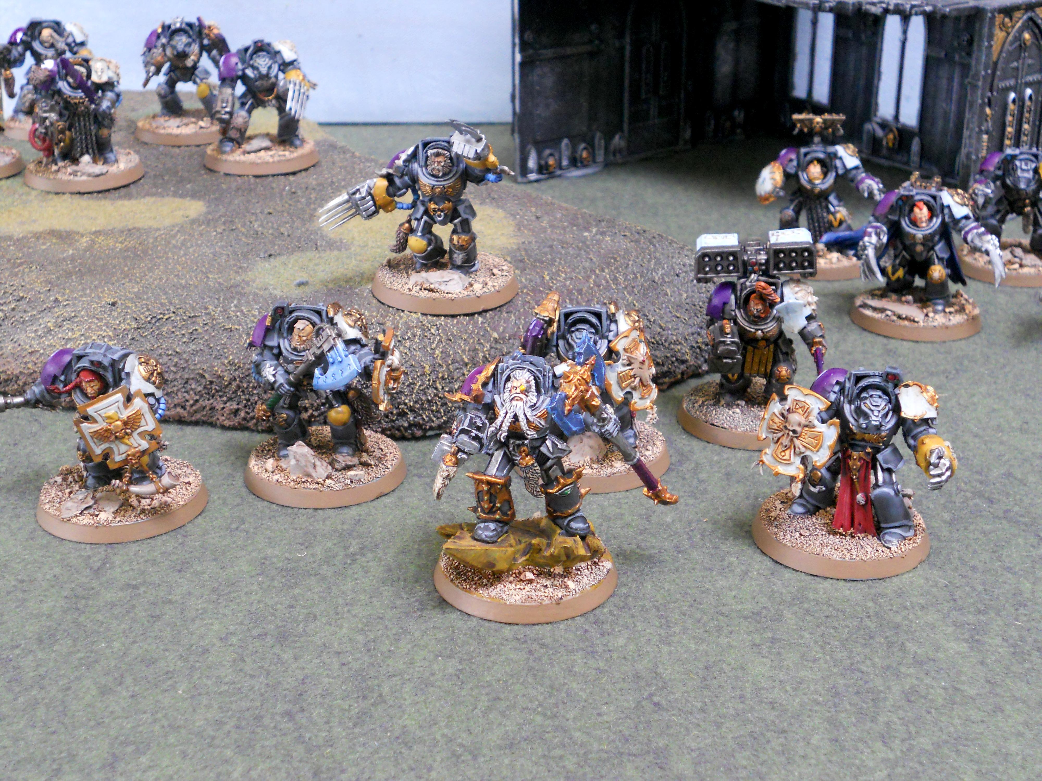 Logan Grimnar, Loganwing, Pre-heresy, Space Wolves, Wolf Guard, Wolf Guard Terminators