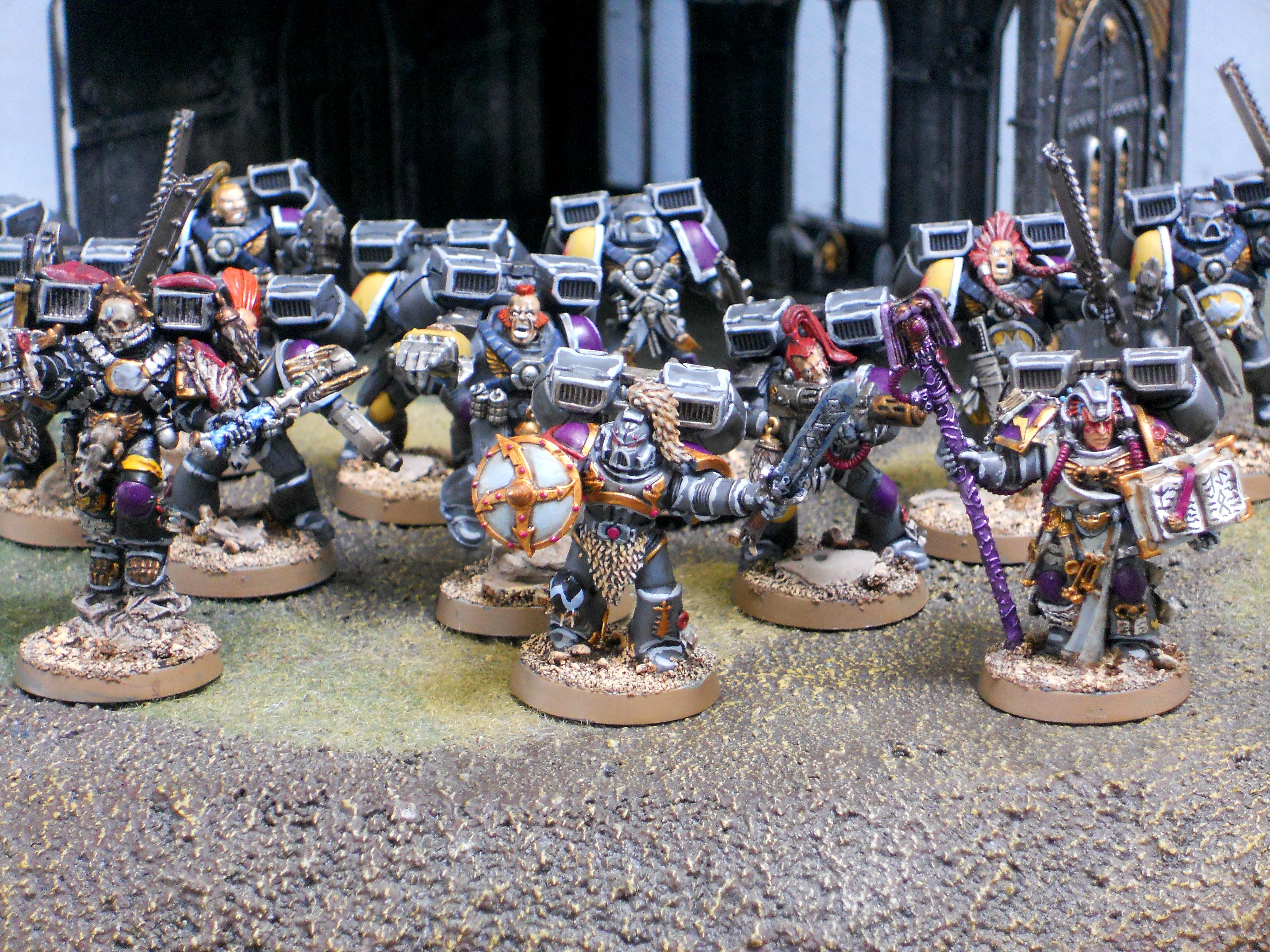 Pre-heresy, Rune Priest, Space Wolves, Wolf Lord, Wolf Priest