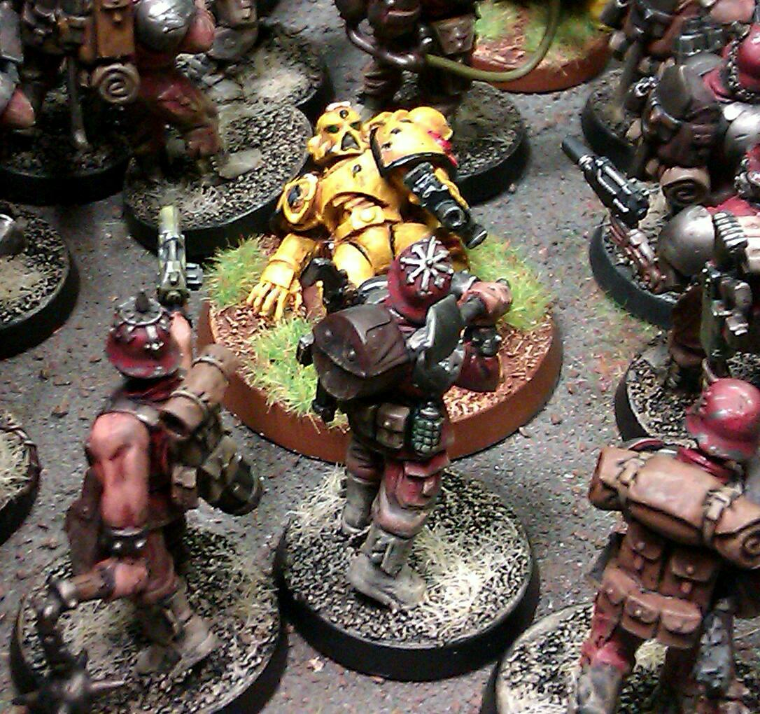 Blood Pact, Chaos, Imperial Fists, Last Stand, Renegade Imperial Guard