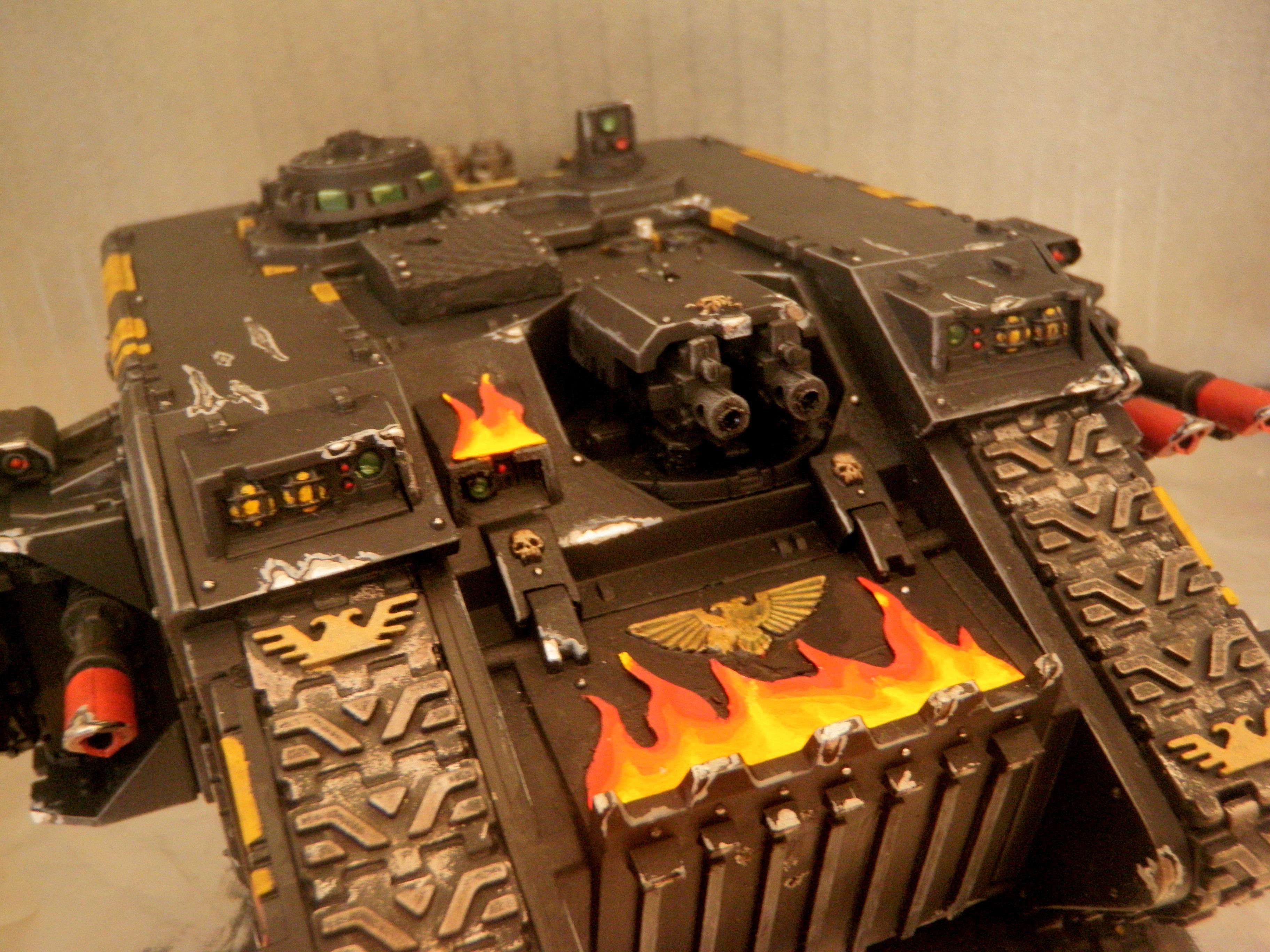 Land Raider, Space Marines, Warhammer 40,000