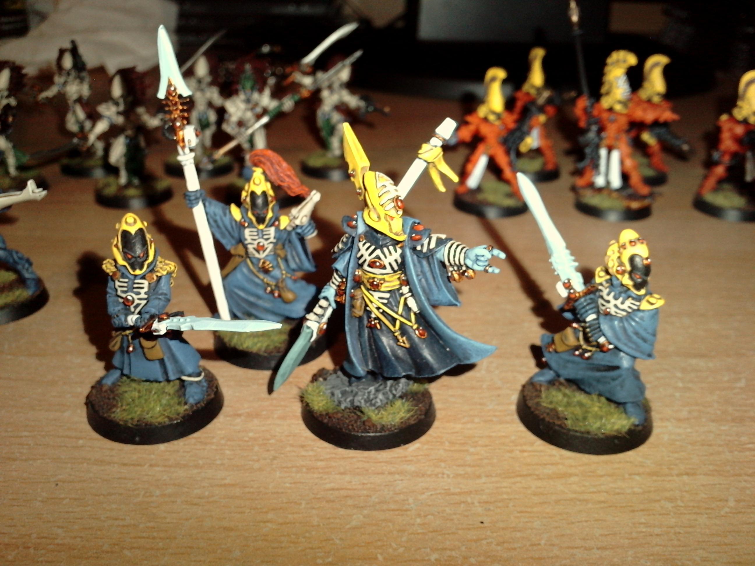 Alaitoc. Warhammer 40k, Eldar, Farseer, Seer Council, Warlock