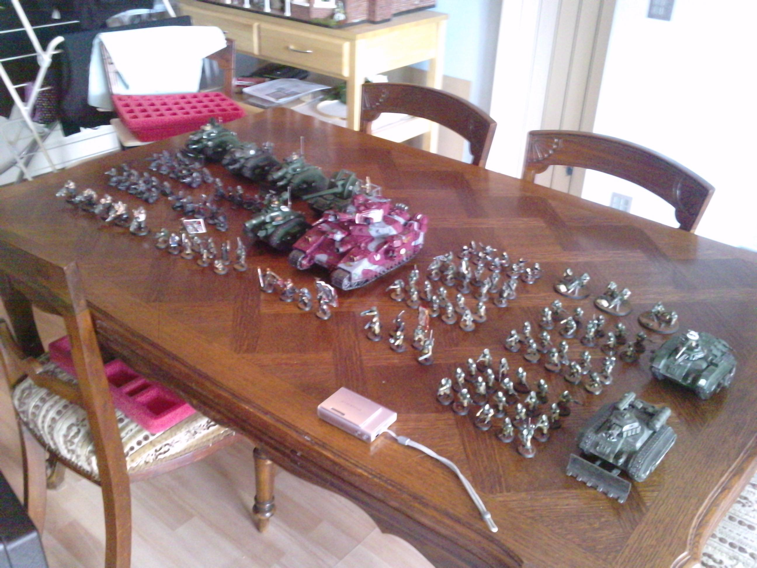 Baneblade, Death Korps of Krieg, Entire Collection, Imperial Guard, Leman Russ, Mass Army, Warhammer 40,000