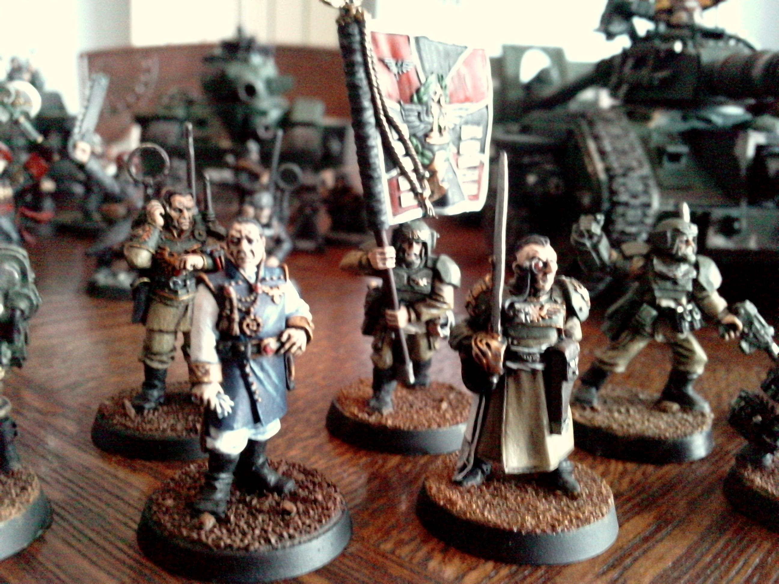 Company Command, Imperial Guard, Warhammer 40,000