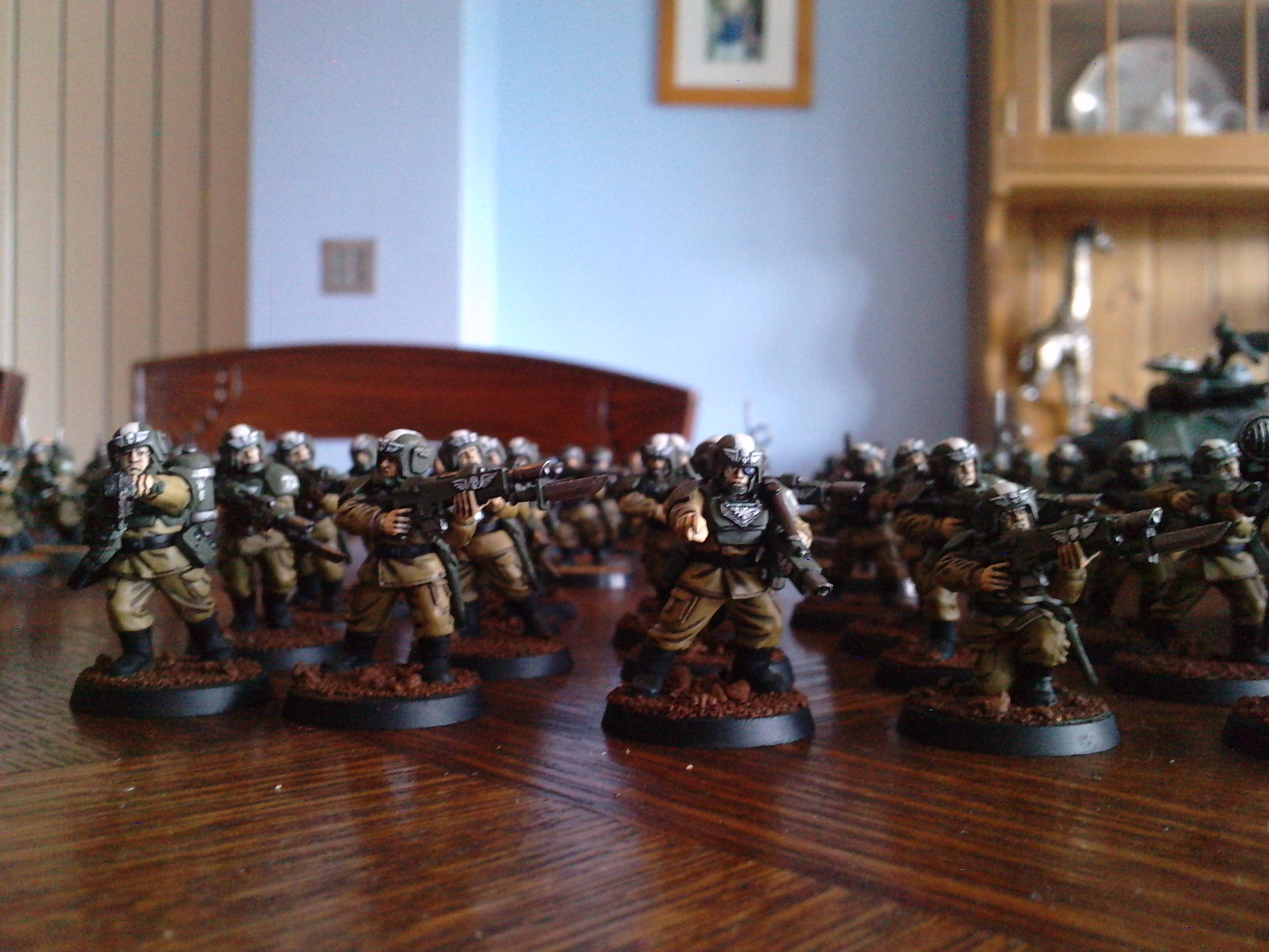 Cadians, Conscripts, Imperial Guard, Warhammer 40,000