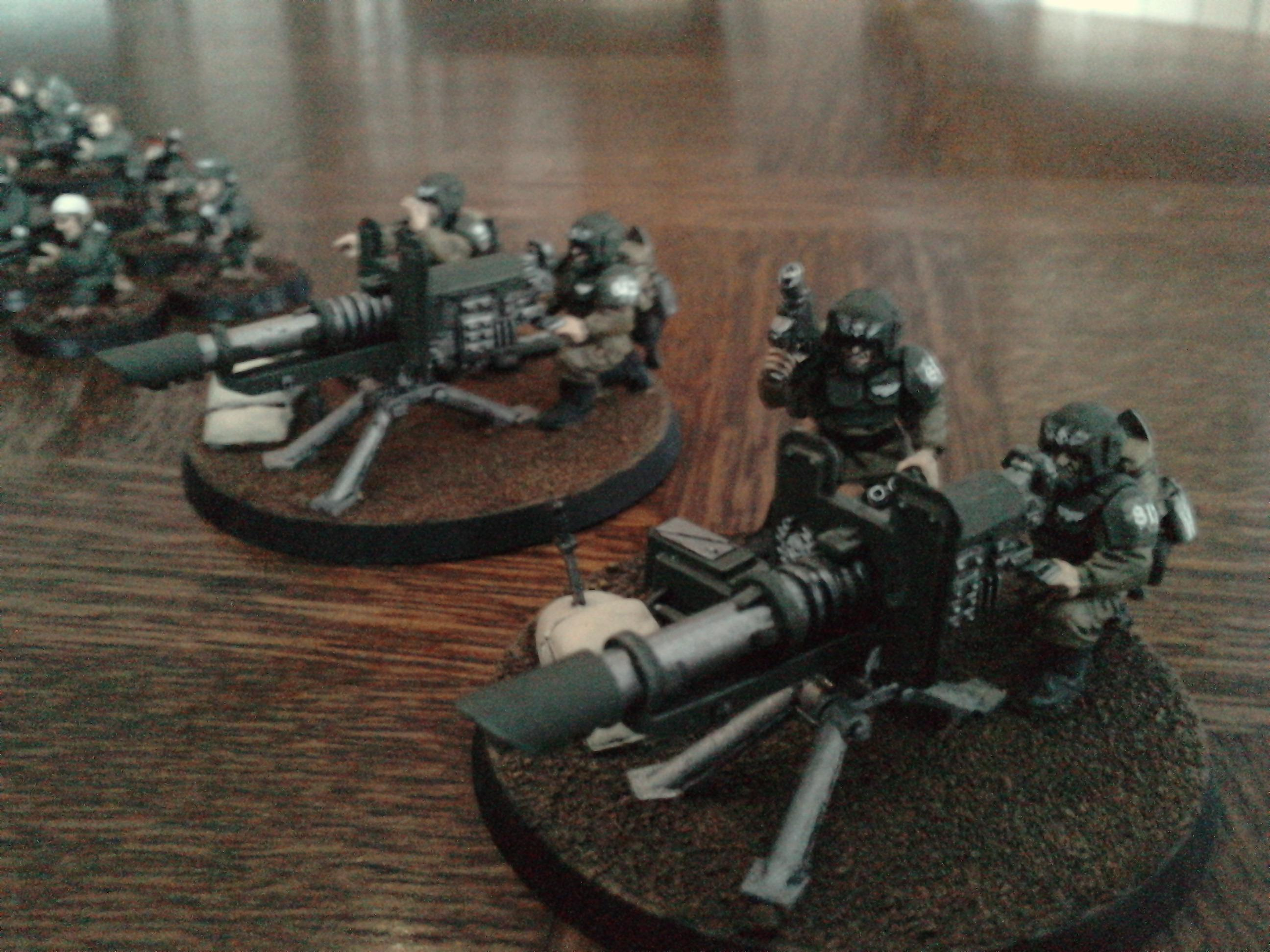 Cadians, Heavy Weapon Team