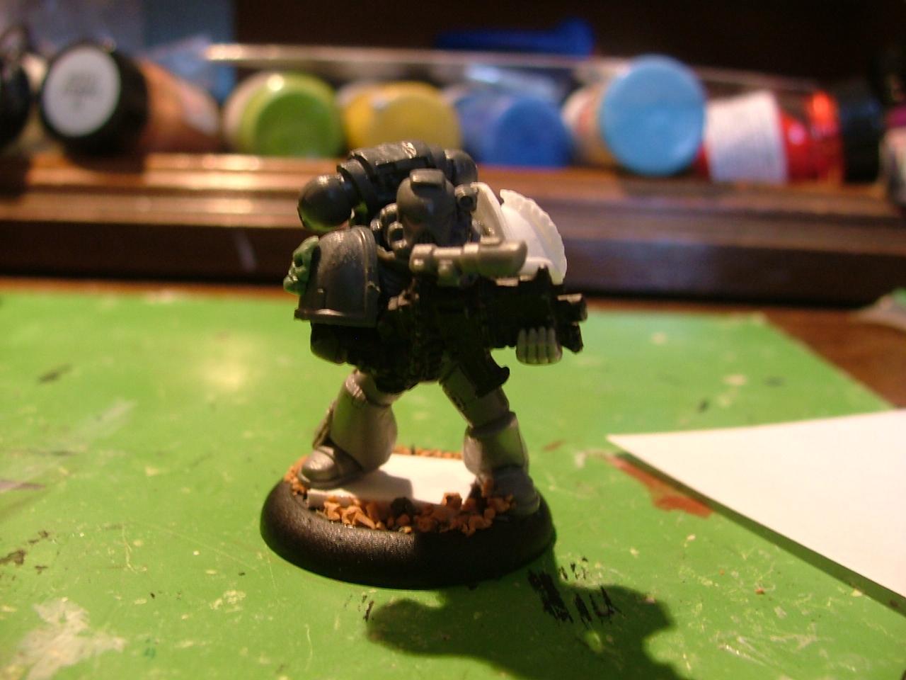 Legion Of The Damned, Mentor Legion, Space Marines, Work In Progress