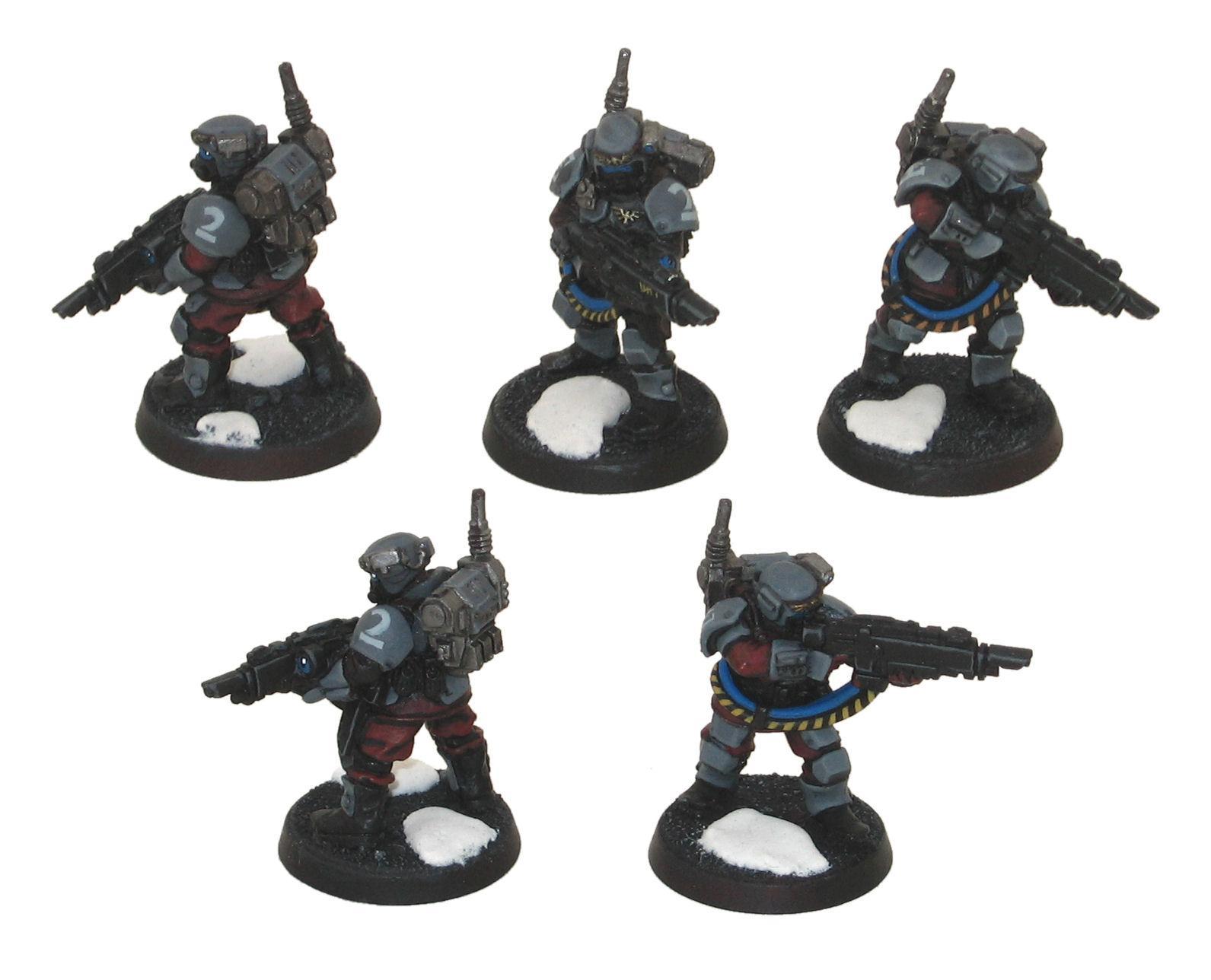 Daemonhunters, Kasrkin