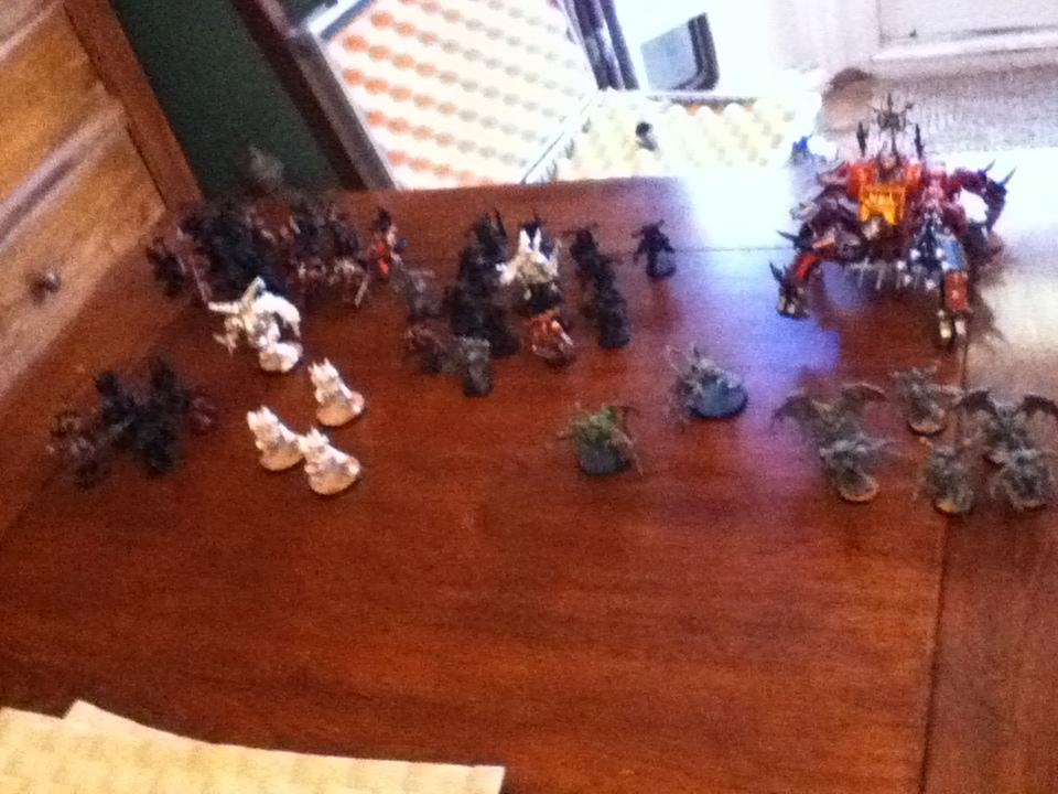 Army, my chaos army