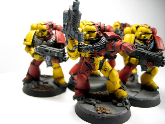 Space Marines, Tactical, Work In Progress