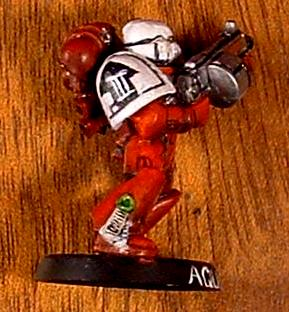 Freehand, Space Marines, Warhammer 40,000