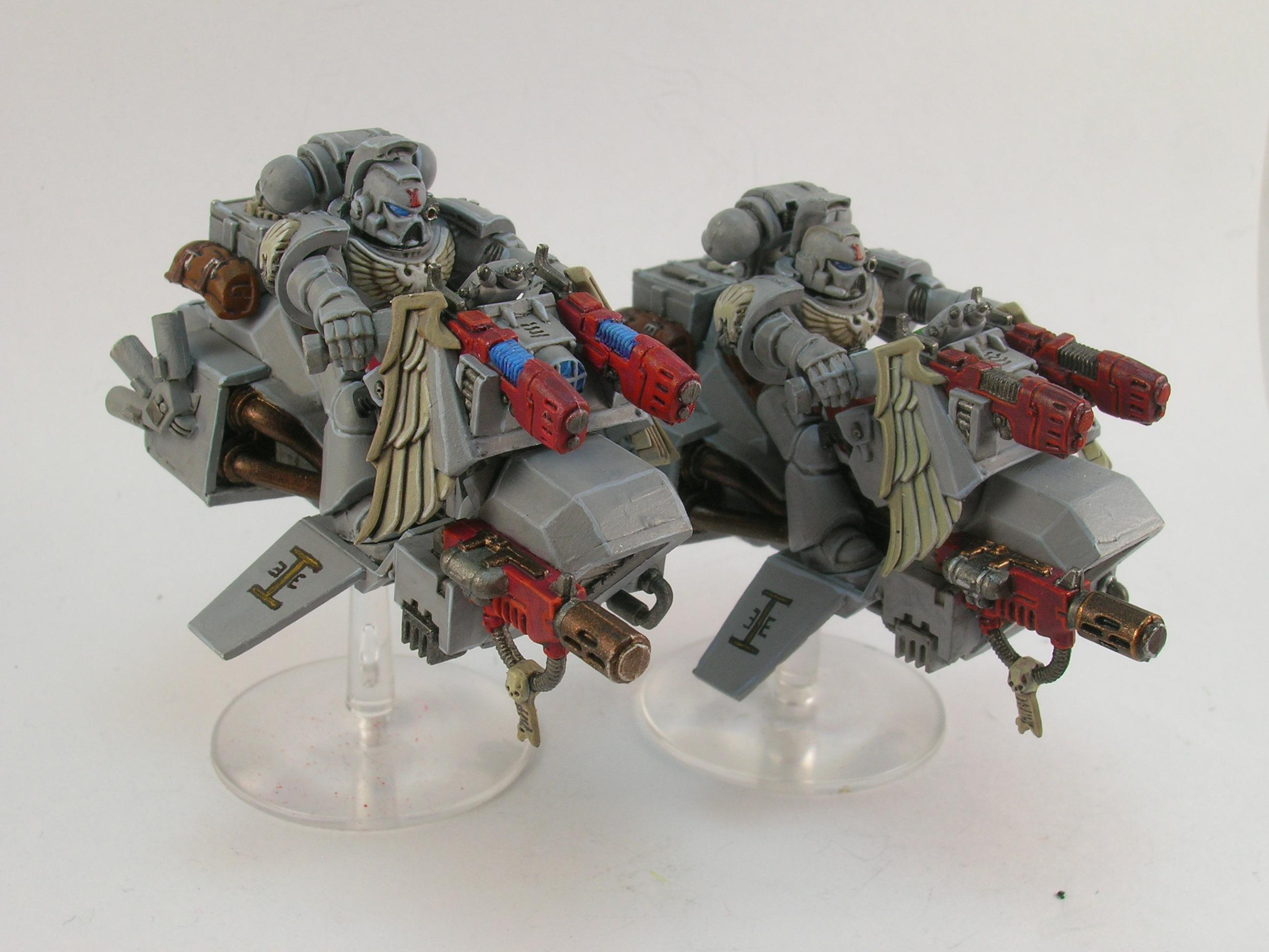 Bike, Hovercraft, Painted Around 2009 To Current, Skimmer, Space Marines