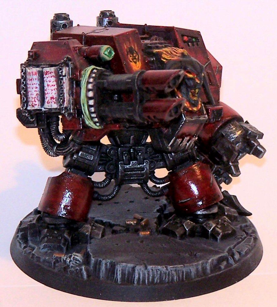 Chaos Dreadnought, Chaos Space Marines, Warhammer 40,000, Word Bearers