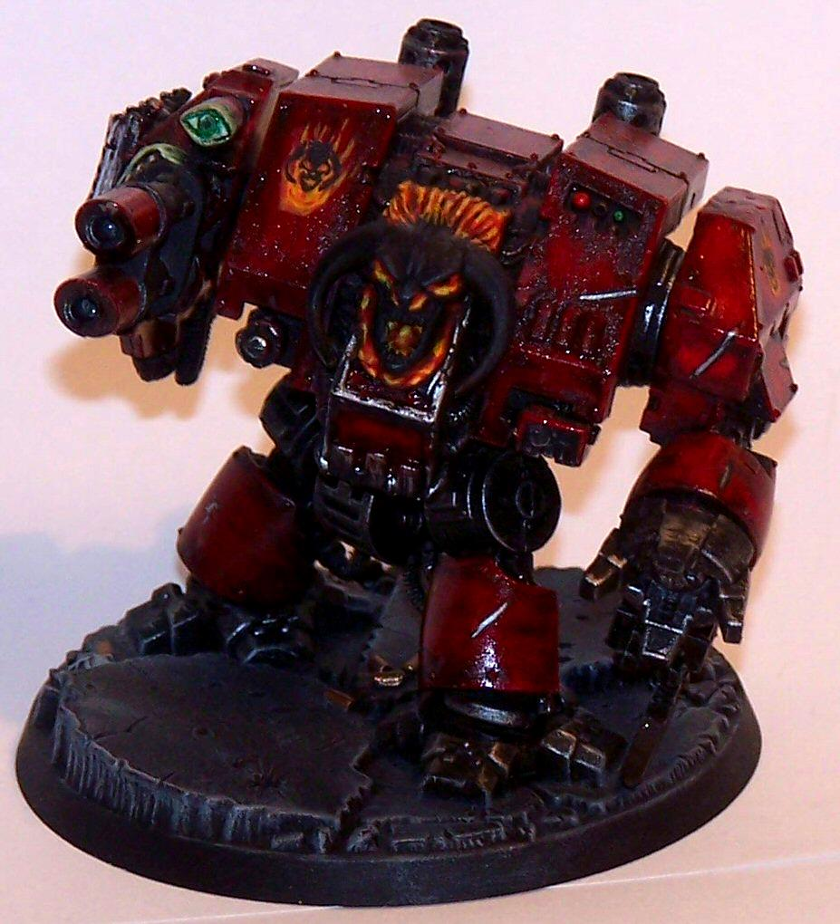 Chaos Dreadnought, Chaos Space Marines, Dreadnought, Warhammer 40,000, Word Bearers