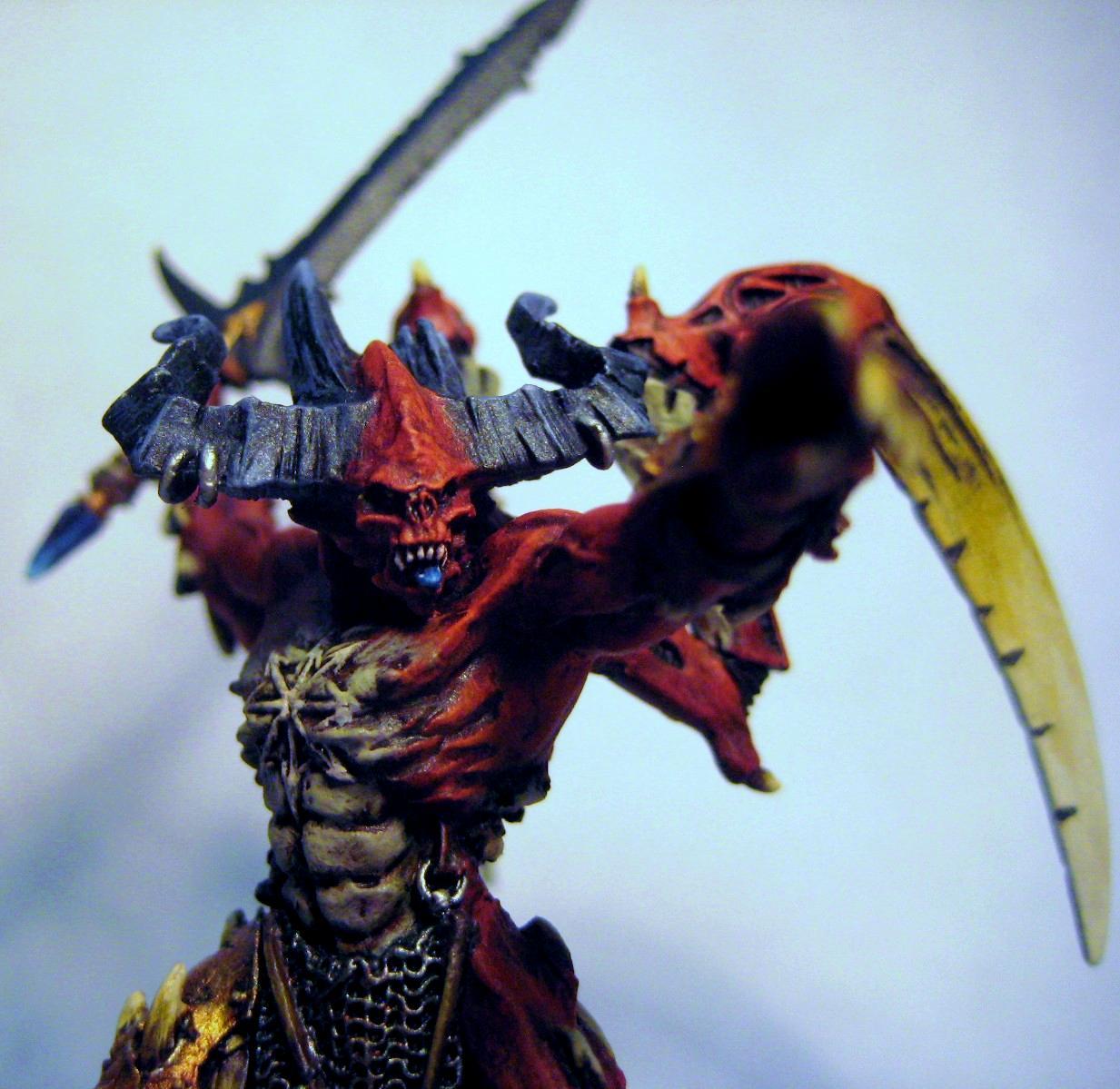 Chaos, Conversion, Daemon Prince, Lord, Warhammer 40,000, Warhammer Fantasy