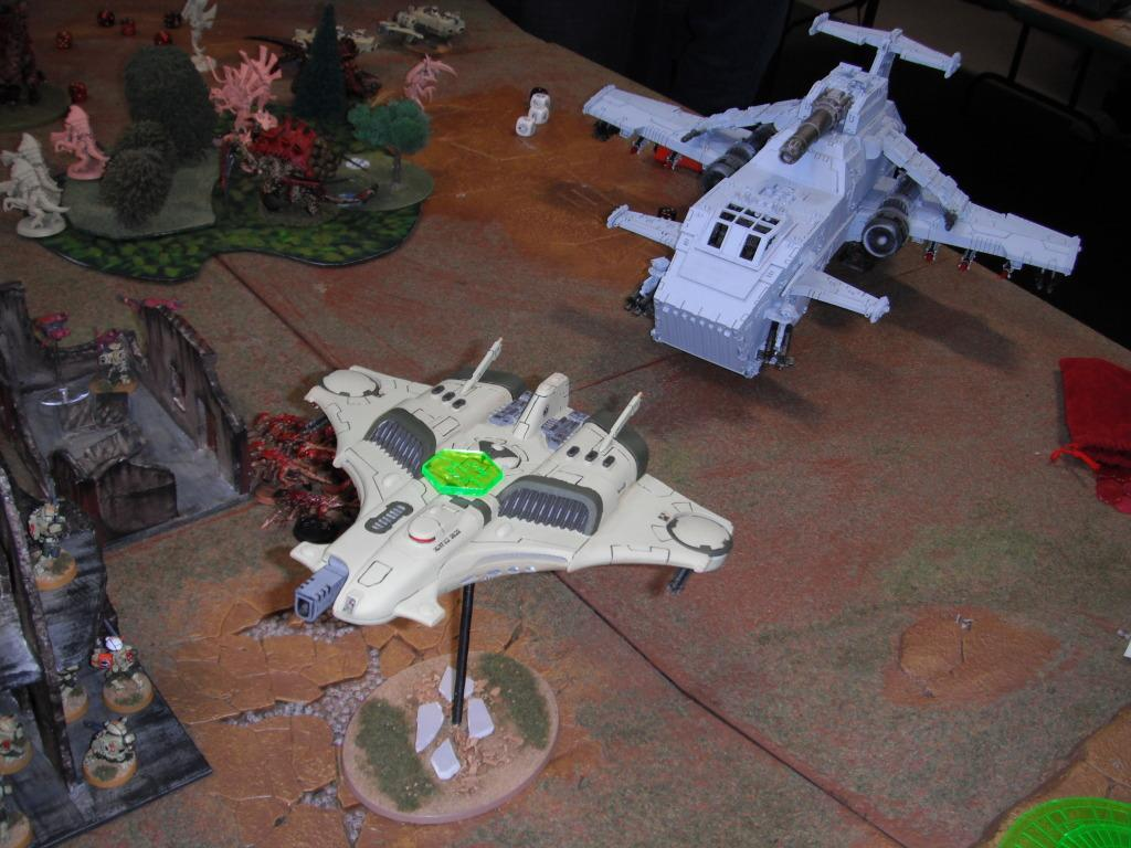 Apocalypse, Barracuda, Tau, Thunderhawk